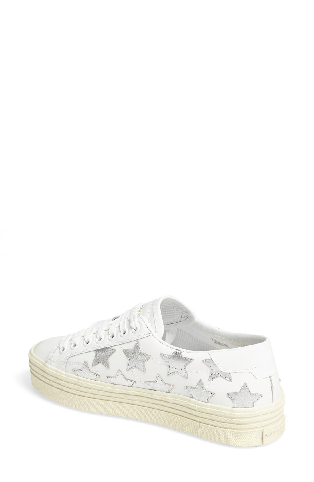 Double Court Classic Sneaker,                             Alternate thumbnail 2, color,                             Ivory
