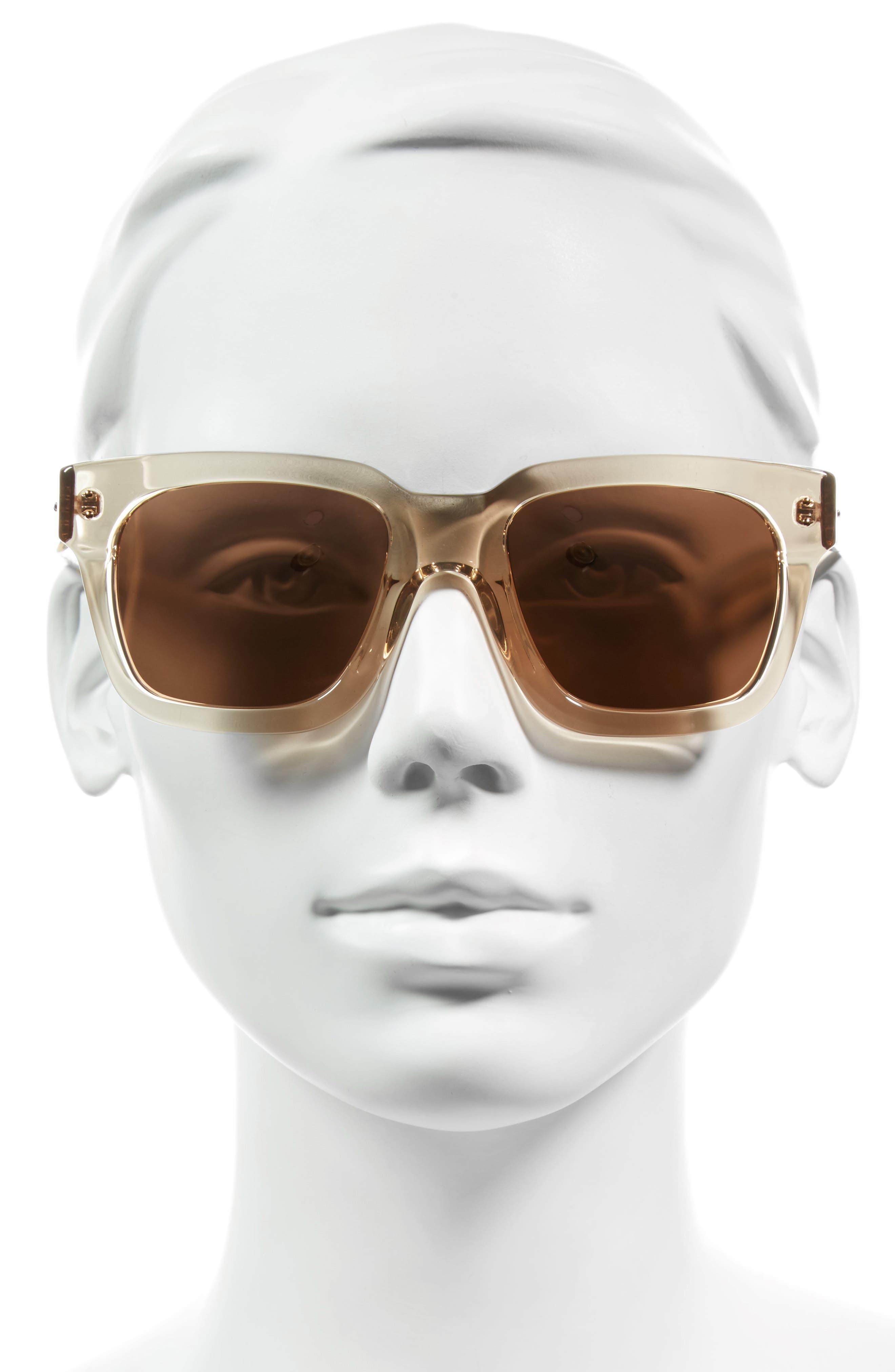 Alternate Image 2  - Linda Farrow 50mm Sunglasses