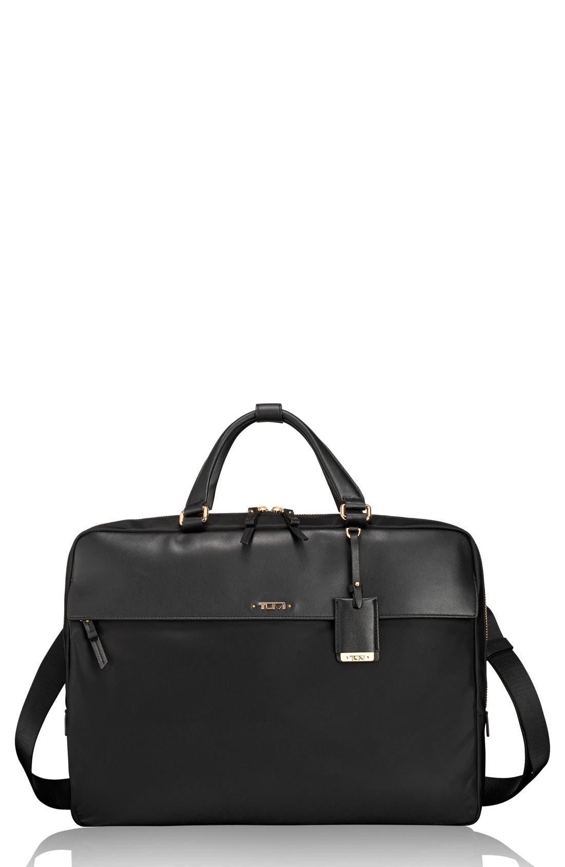 TUMI Westport Slim Nylon & Leather Briefcase