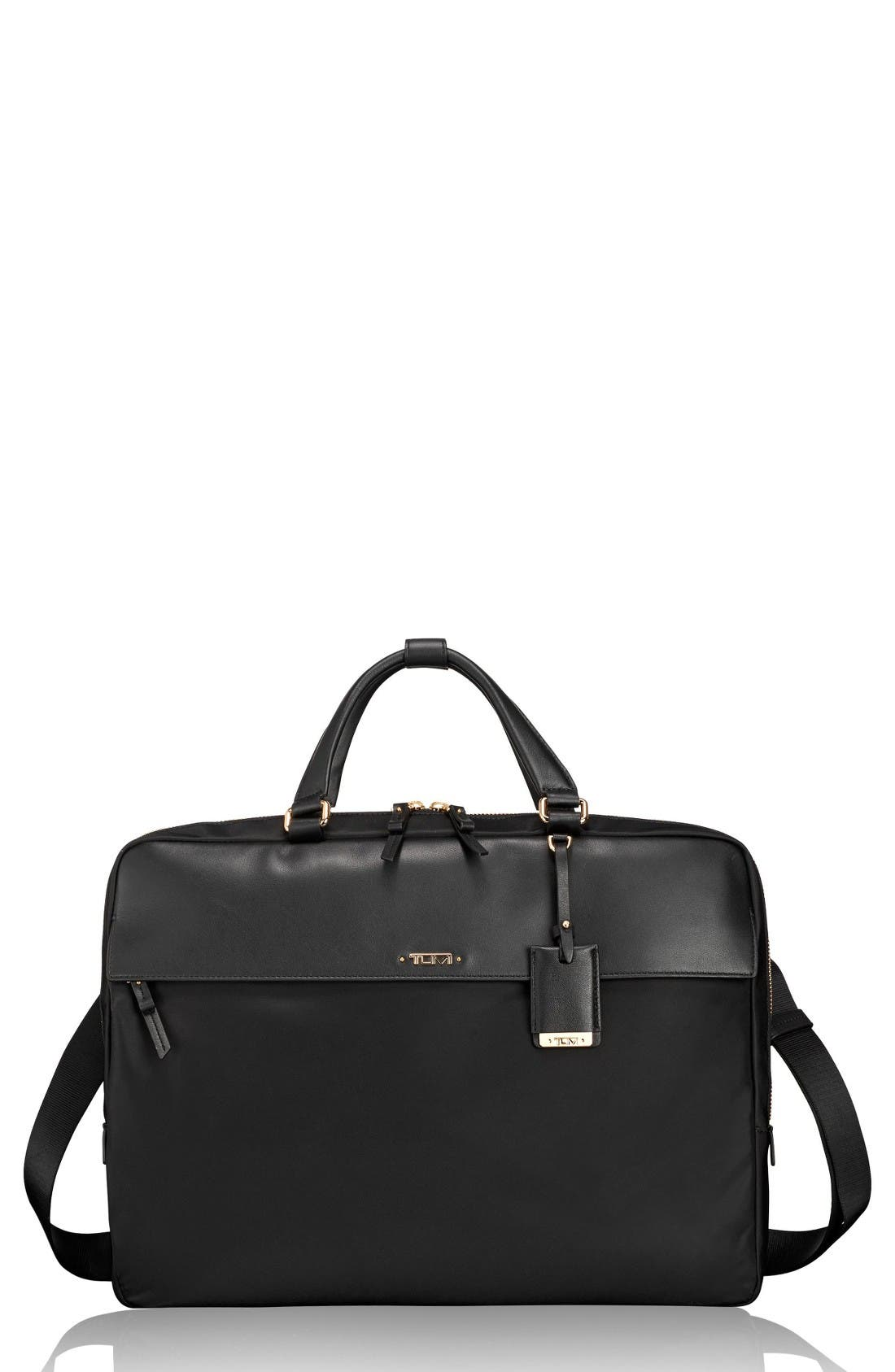 Tumi Westport Slim Nylon & Leather Briefcase