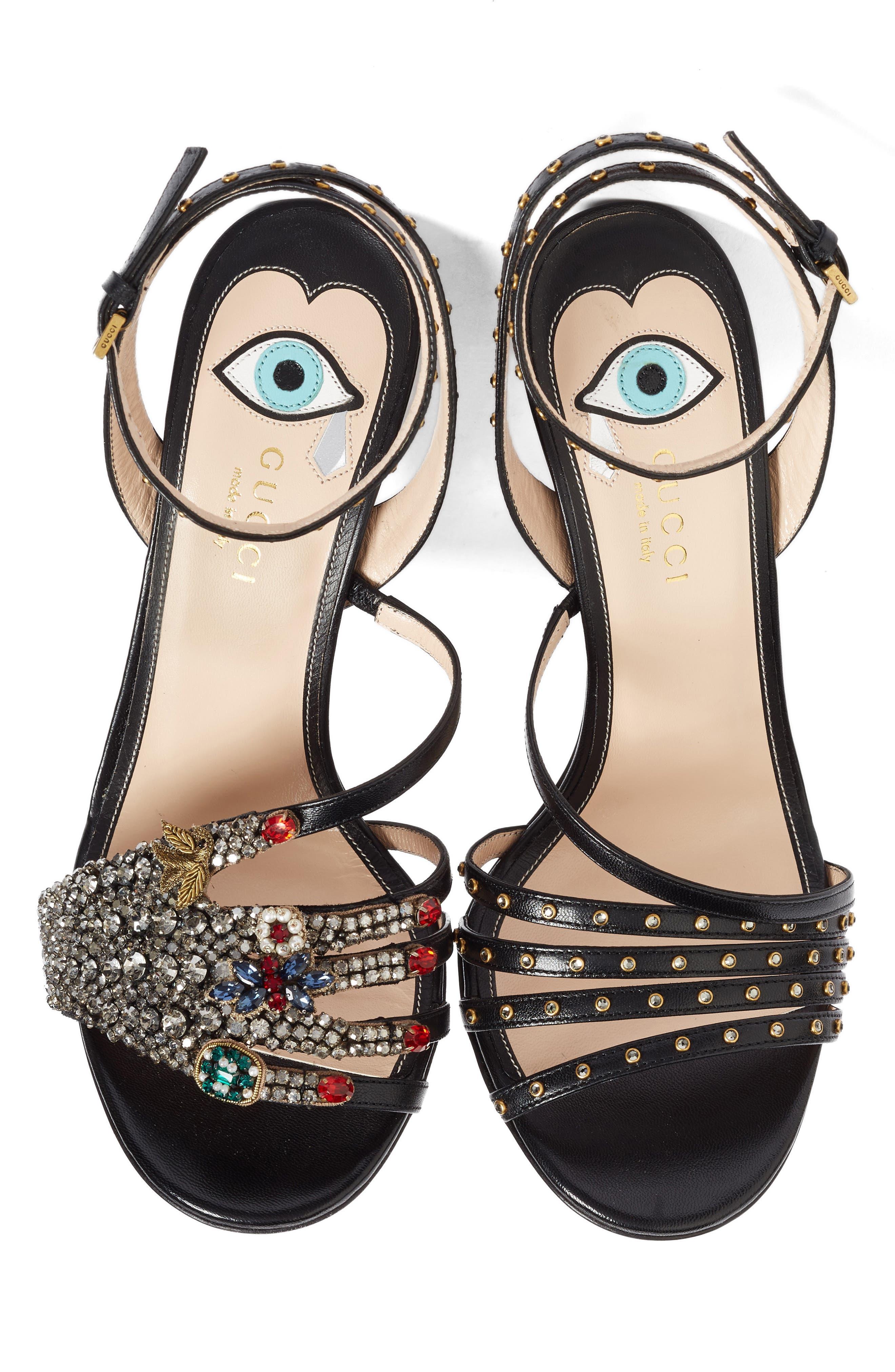 Alternate Image 3  - Gucci Strappy Sandal (Women)