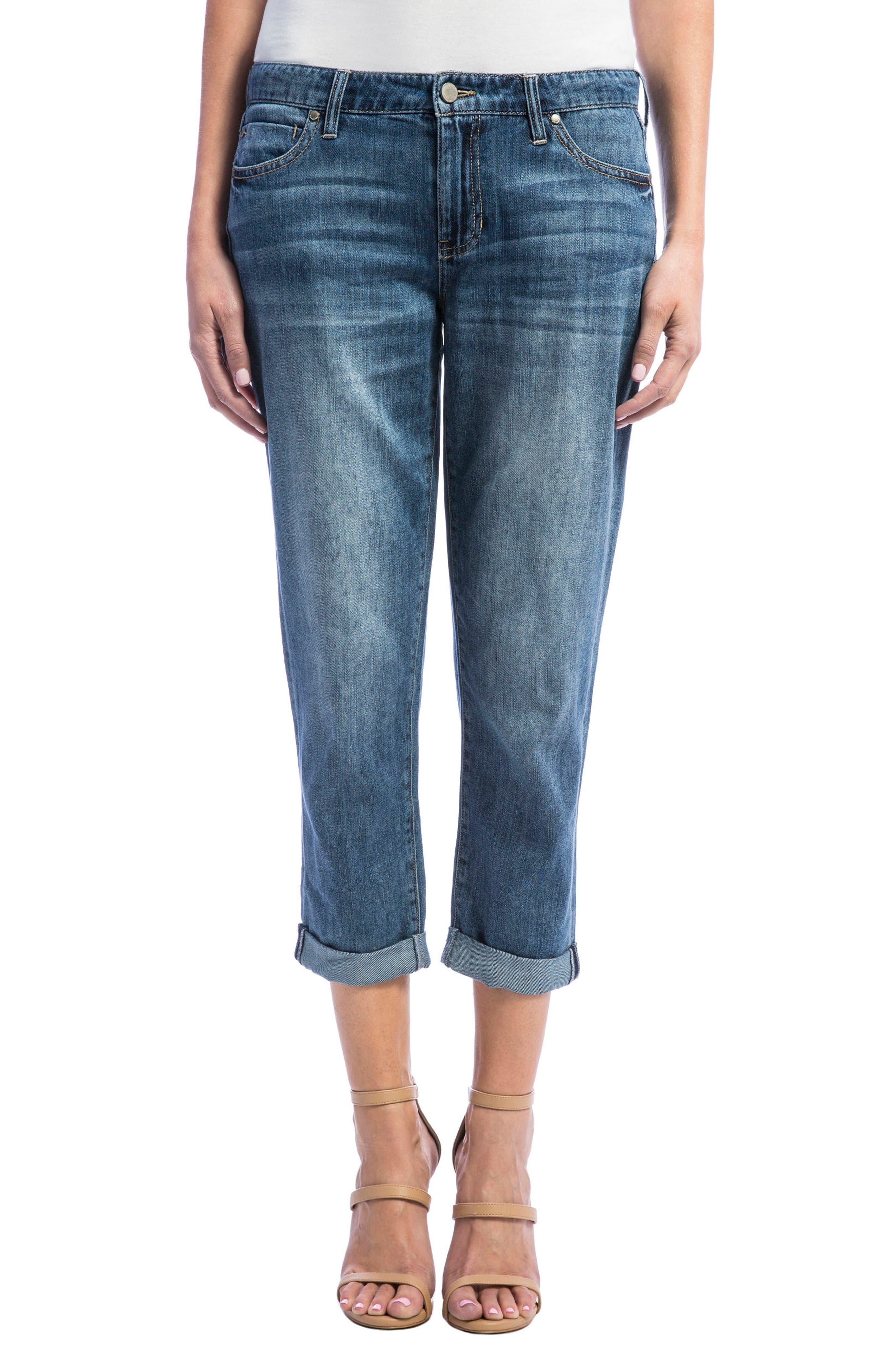Liverpool Jeans Company Cameron Crop Boyfriend Jeans