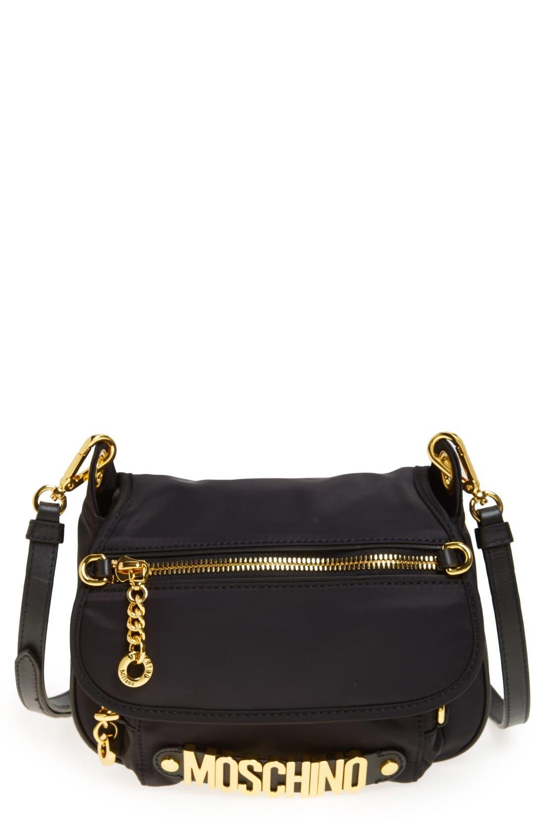 Moschino Nylon Crossbody Bag