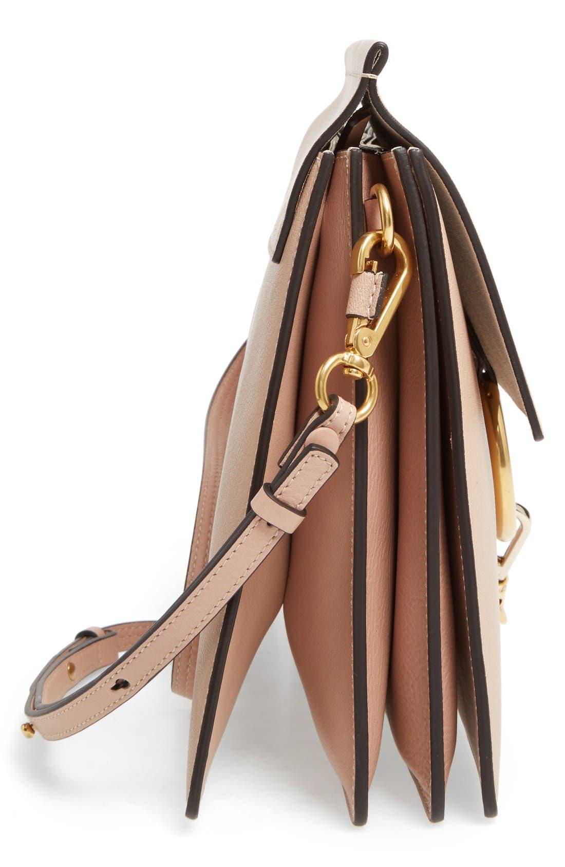 Alternate Image 5  - Chloé Faye Goatskin Leather Shoulder Bag