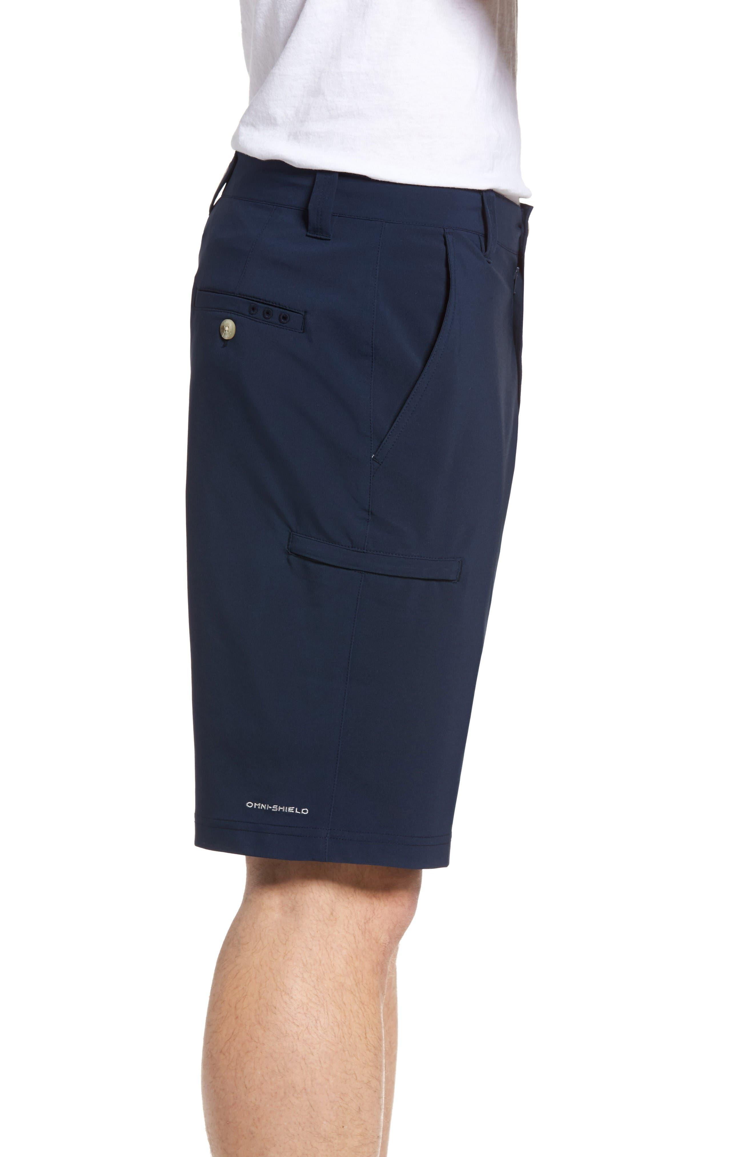 PFG Grander Marlin II Shorts,                             Alternate thumbnail 3, color,                             Collegiate Navy