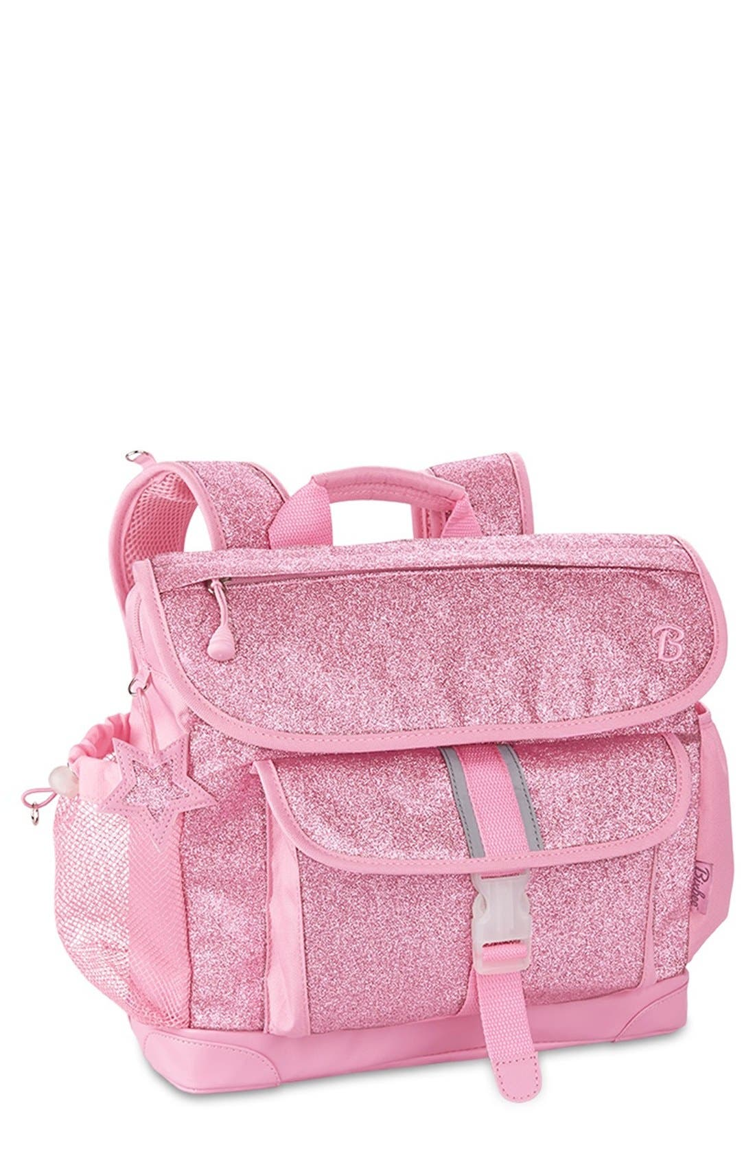 'Medium Sparkalicious' Backpack,                             Main thumbnail 1, color,                             Pink