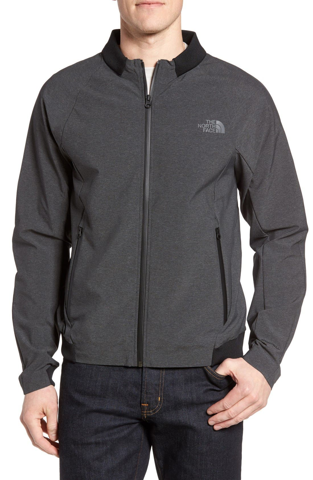 Alternate Image 1 Selected - The North Face Apex Saroka Bomber Jacket