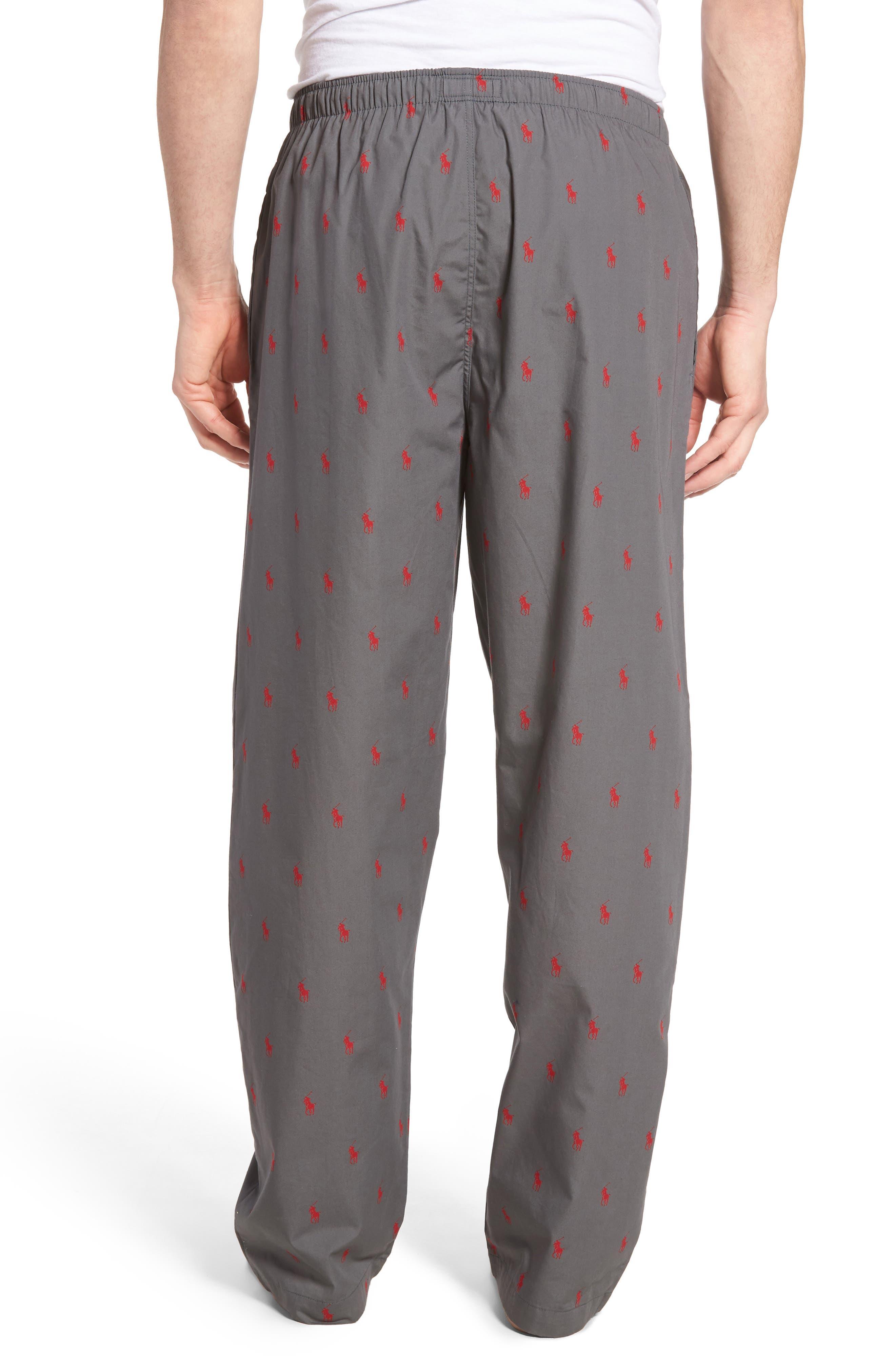 Alternate Image 2  - Polo Ralph Lauren Cotton Lounge Pants