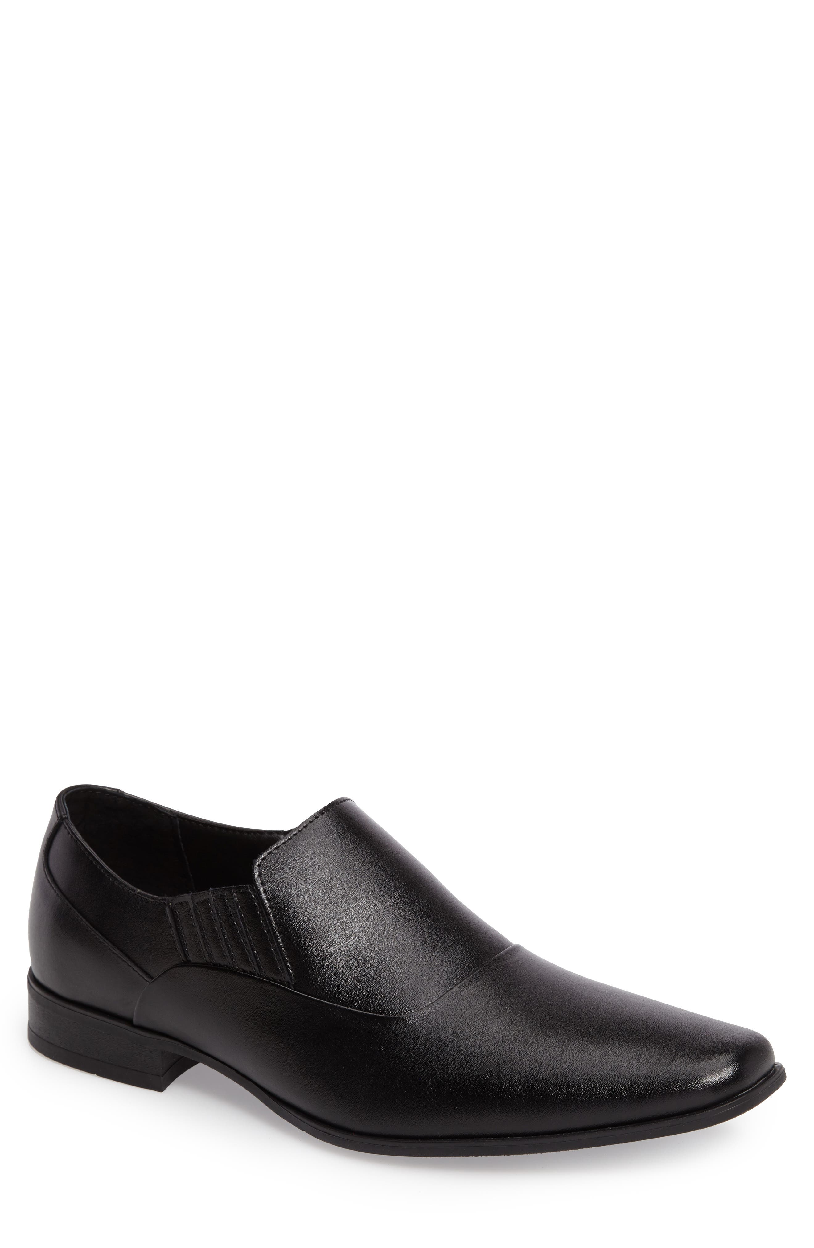 Alternate Image 1 Selected - Calvin Klein Bartel Square-Toe Venetian Loafer (Men)
