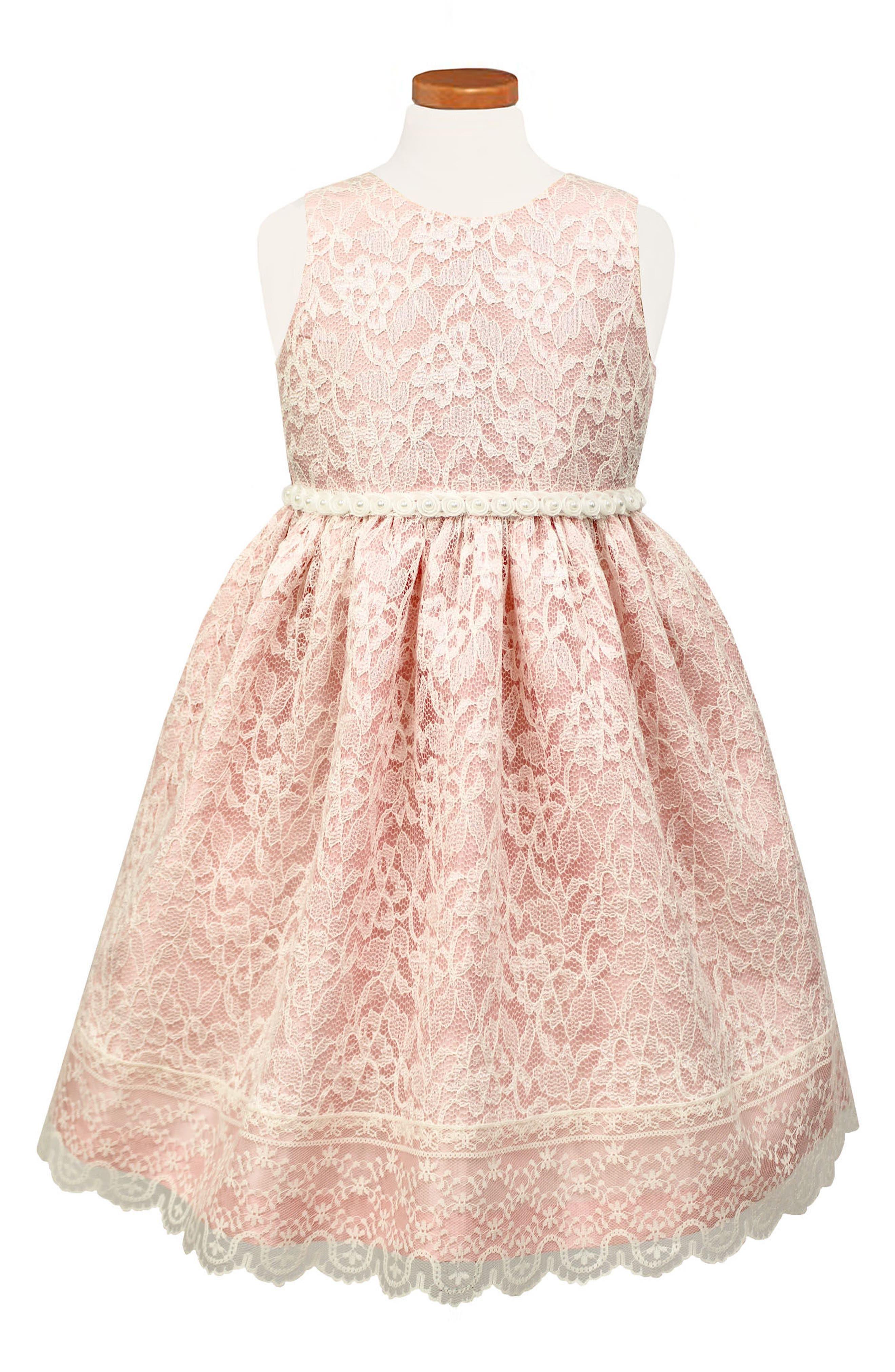 SORBET Sleeveless Lace Dress