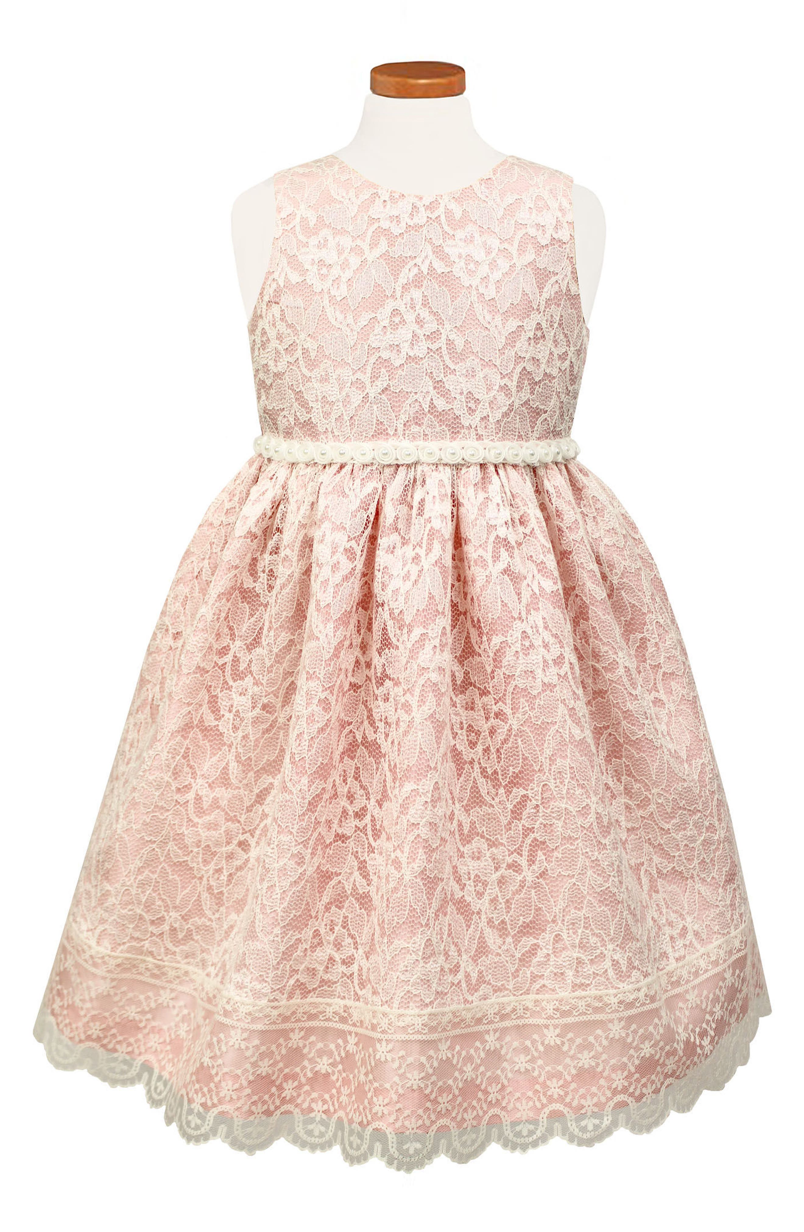 Sorbet Sleeveless Lace Dress (Toddler Girls & Little Girls)