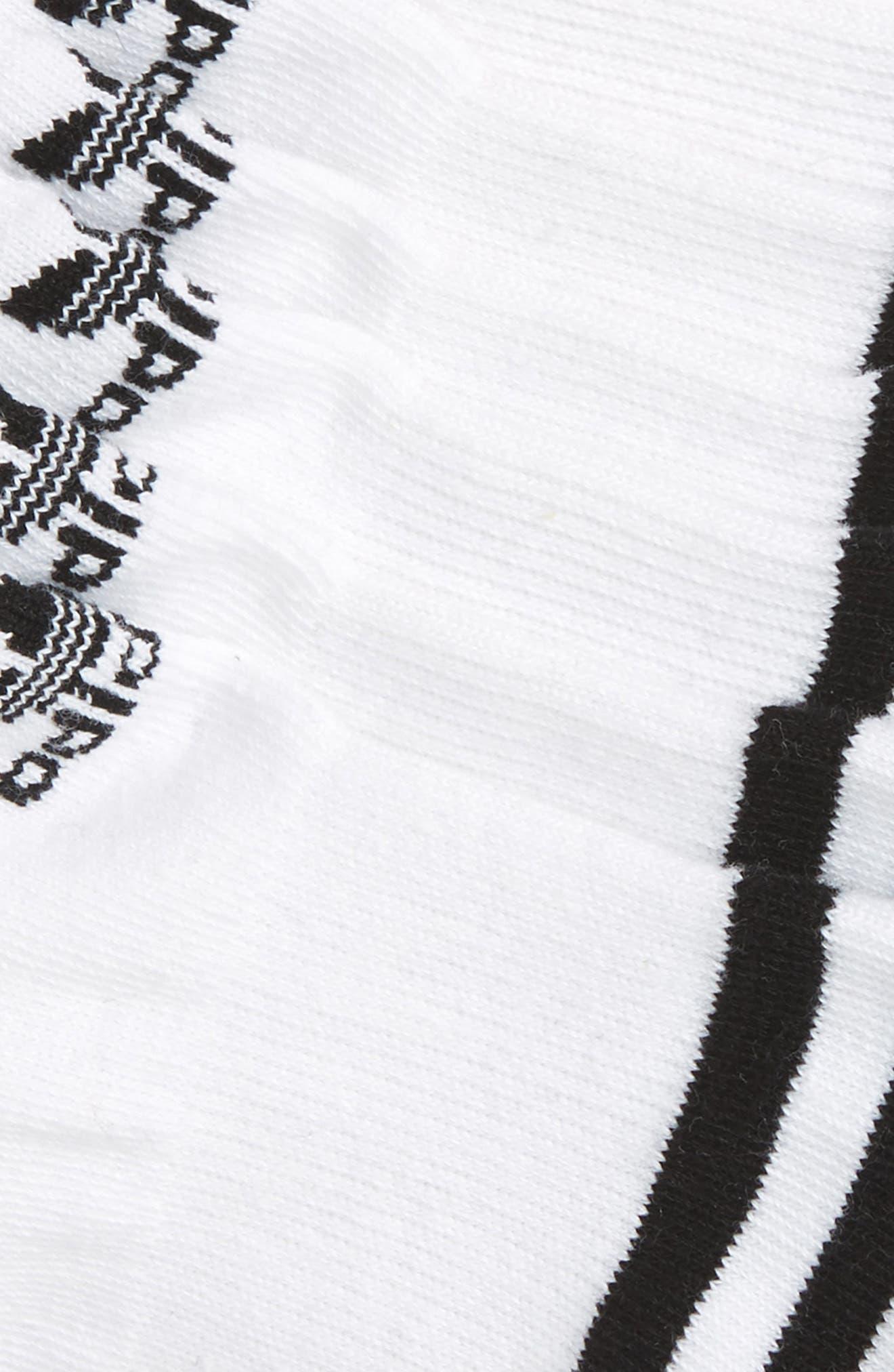 3-Pack Original Cushioned No-Show Socks,                             Alternate thumbnail 2, color,                             White/ Black/ White