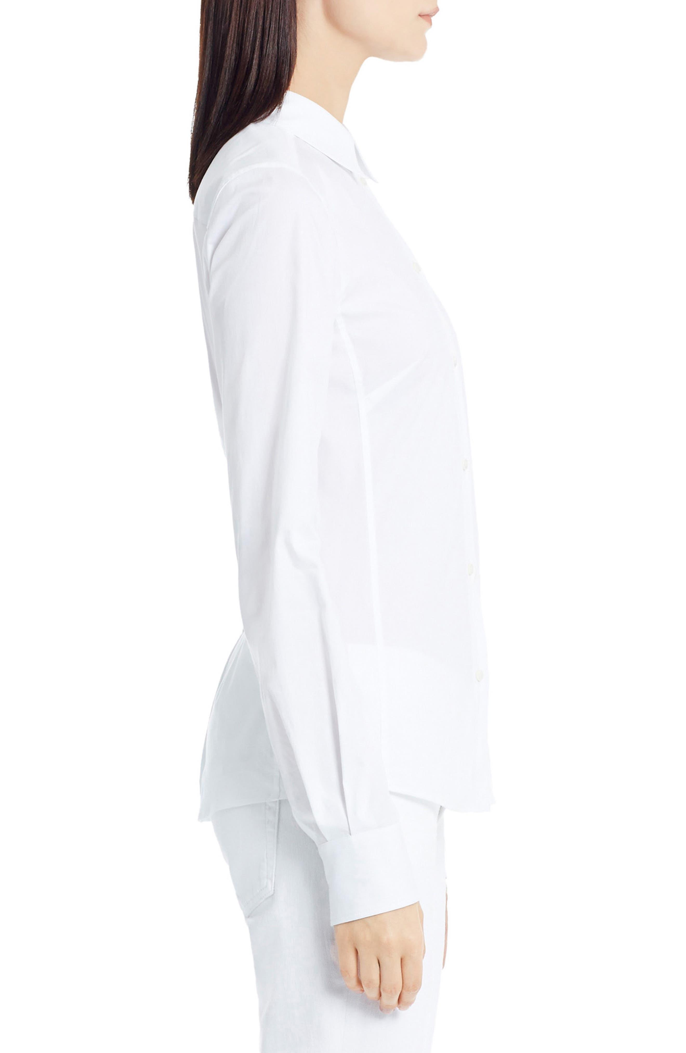 Alternate Image 4  - Dolce&Gabbana Stretch Poplin Blouse