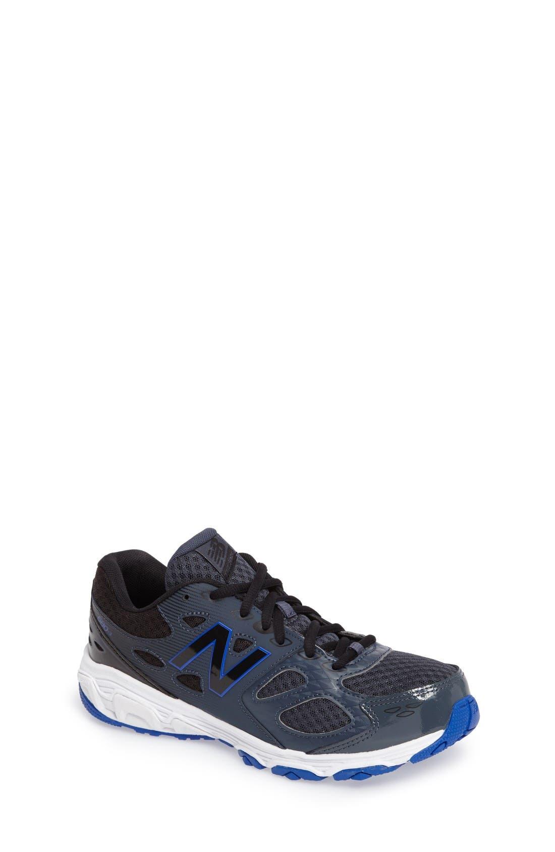 680v3 Sneaker,                             Main thumbnail 1, color,                             Grey/Blue