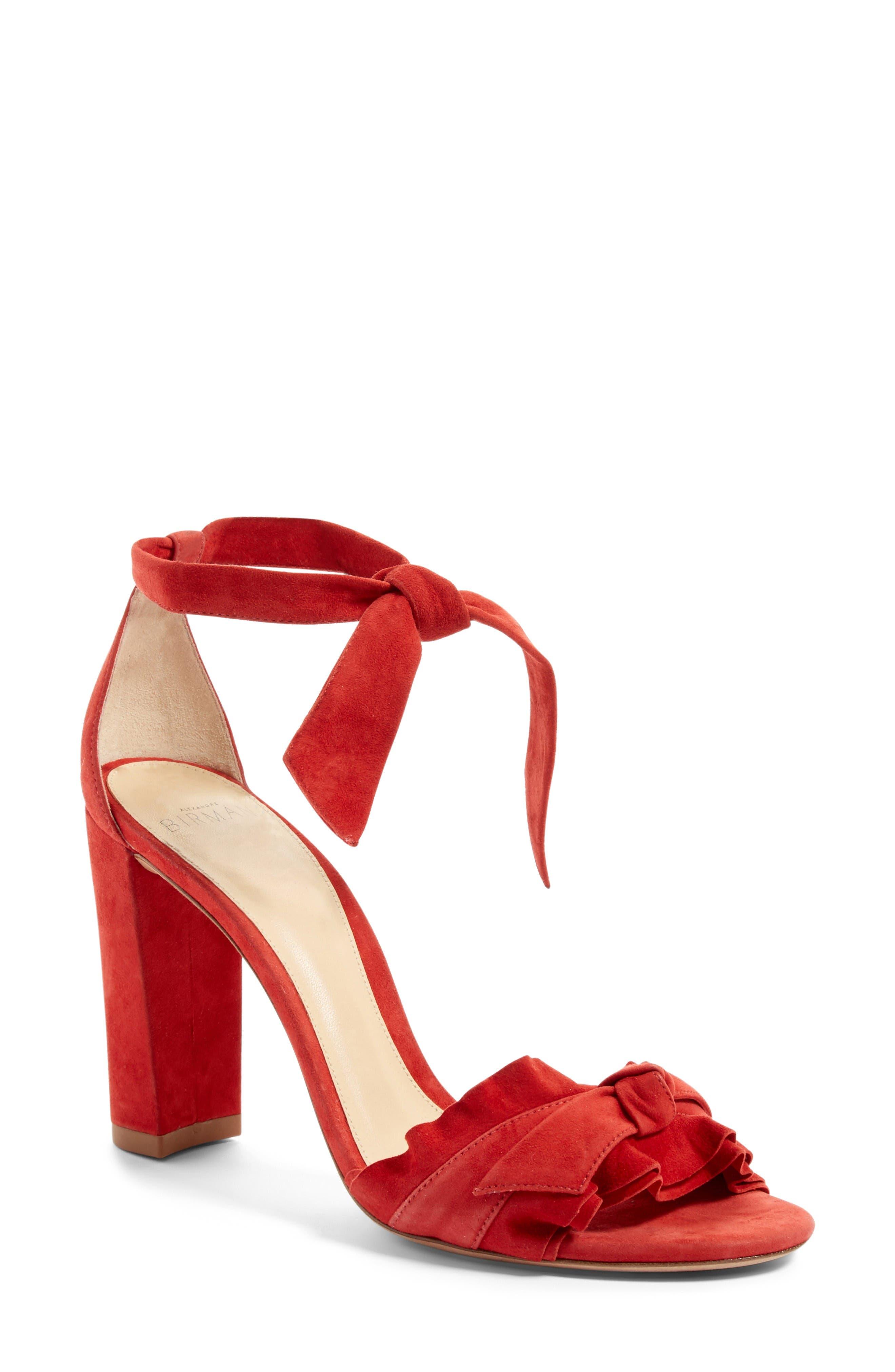 Alternate Image 1 Selected - Alexandre Birman Lupita Block Heel Sandal (Women)