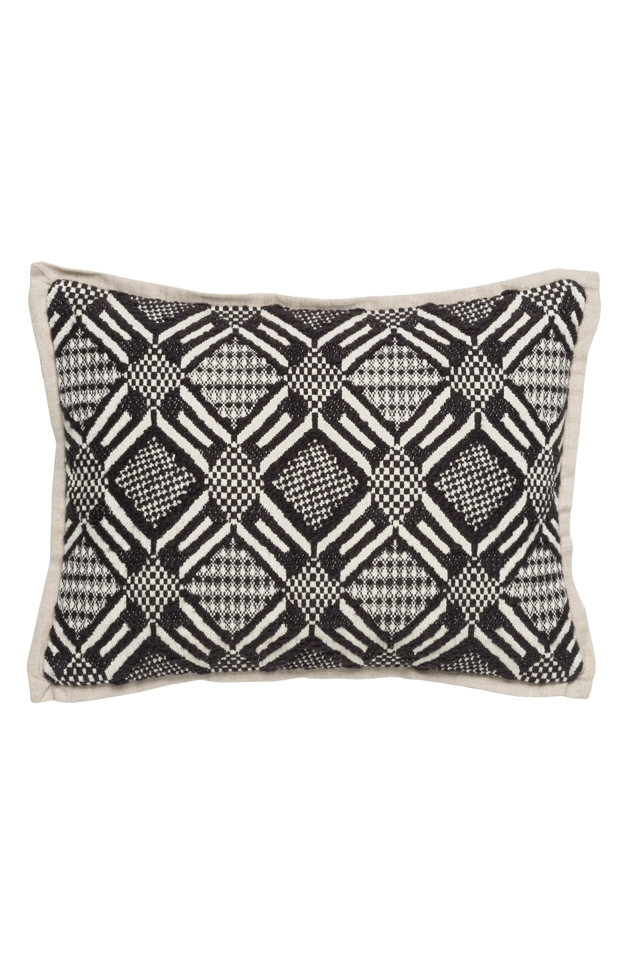 Jazlyn Accent Pillow,                         Main,                         color, Black