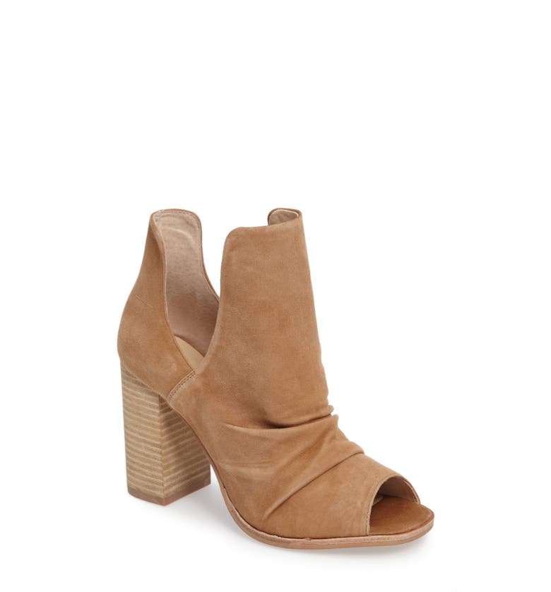 Lash Split Shaft Bootie,                         Main,                         color, Camel