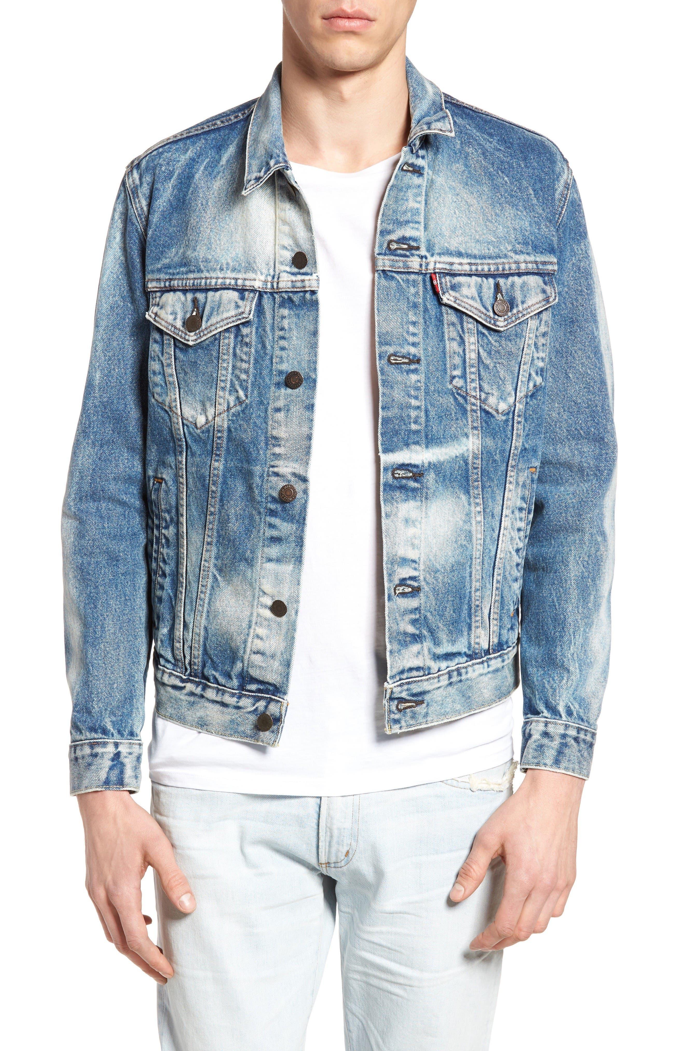 Alternate Image 1 Selected - Levi's® Denim Trucker Jacket