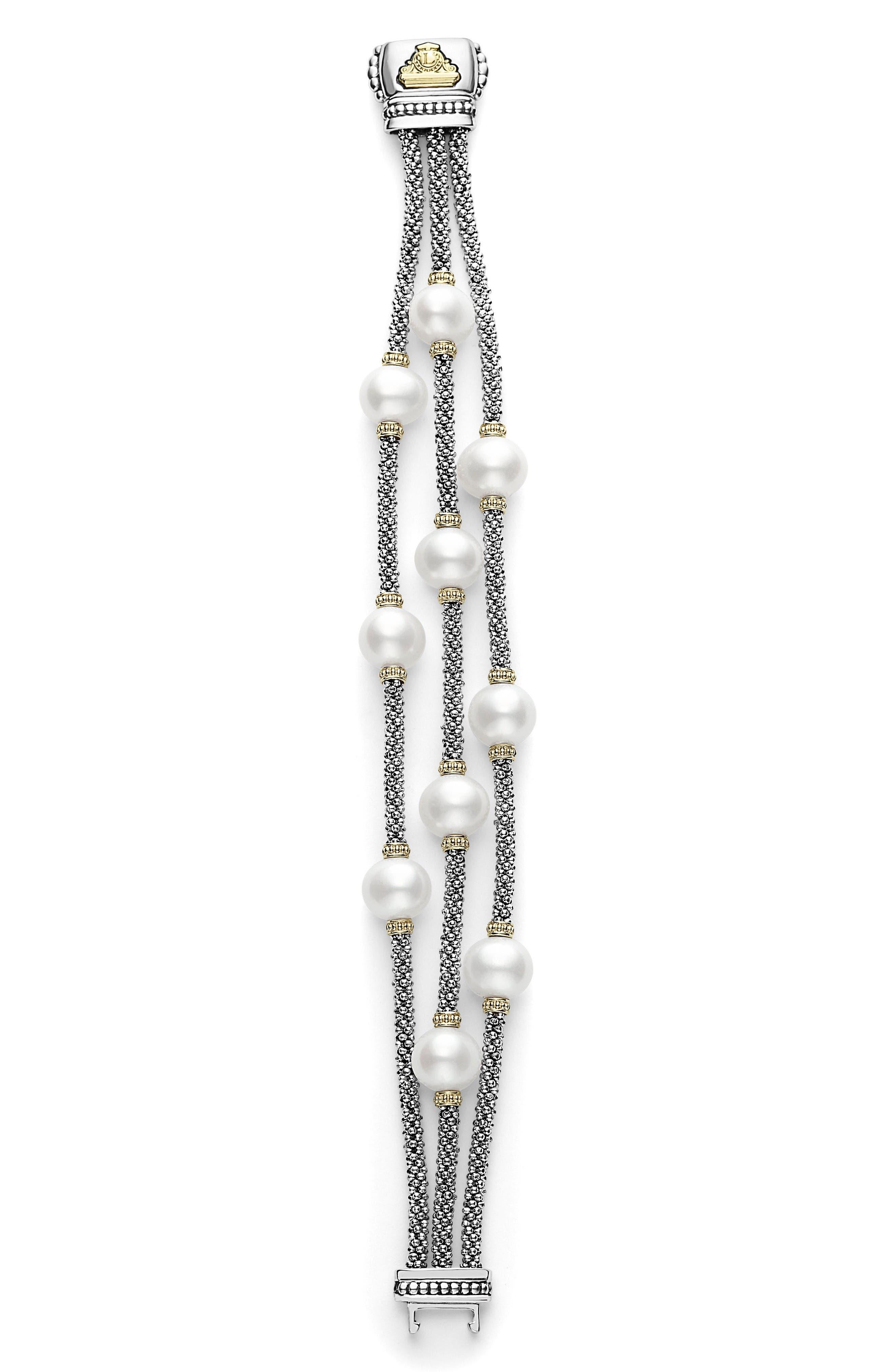Alternate Image 4  - LAGOS Luna Pearl Caviar Multistrand Bracelet