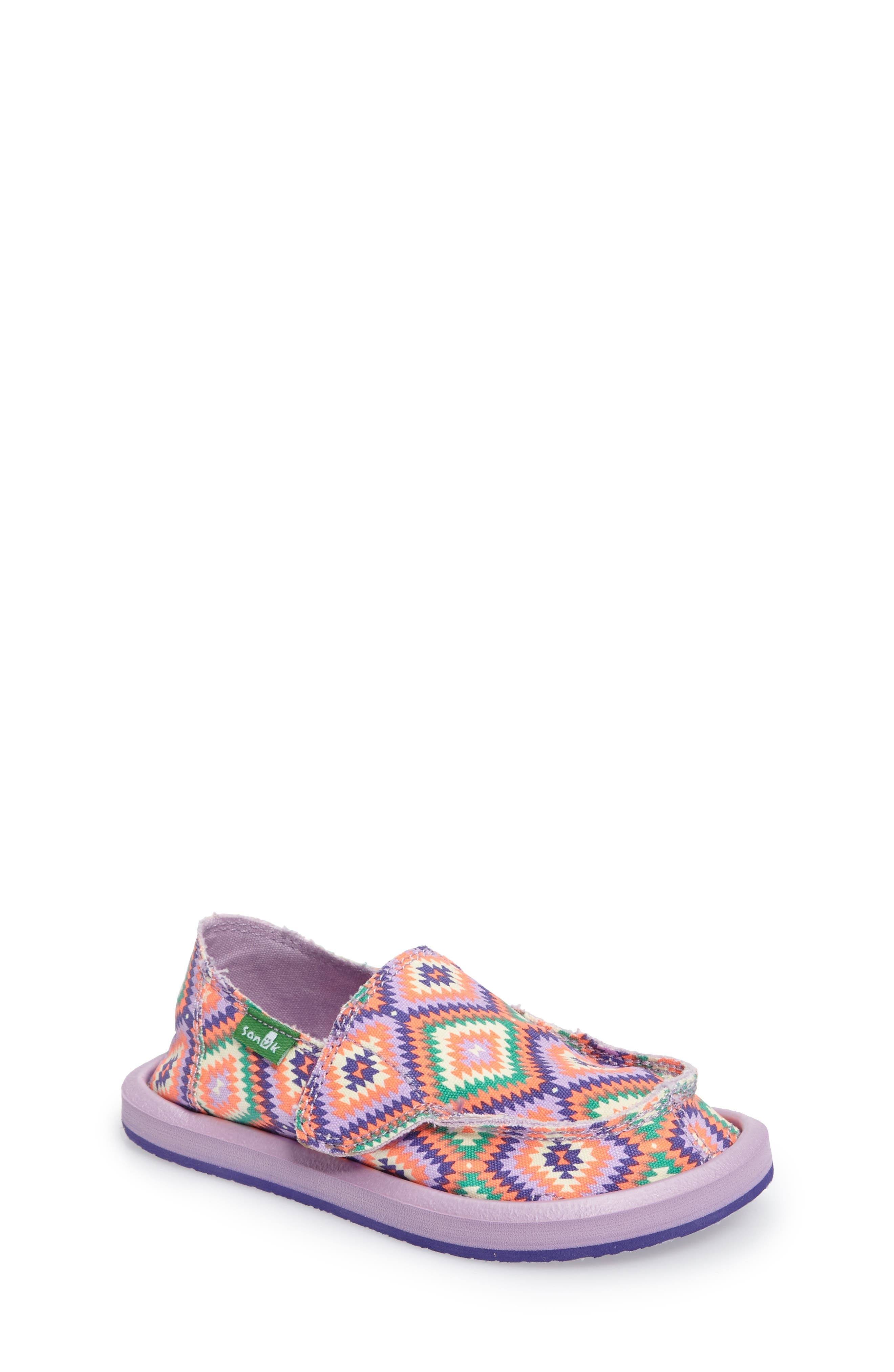 Sanuk Donna Slip-On Sneaker (Toddler, Little Kid & Big Kid)