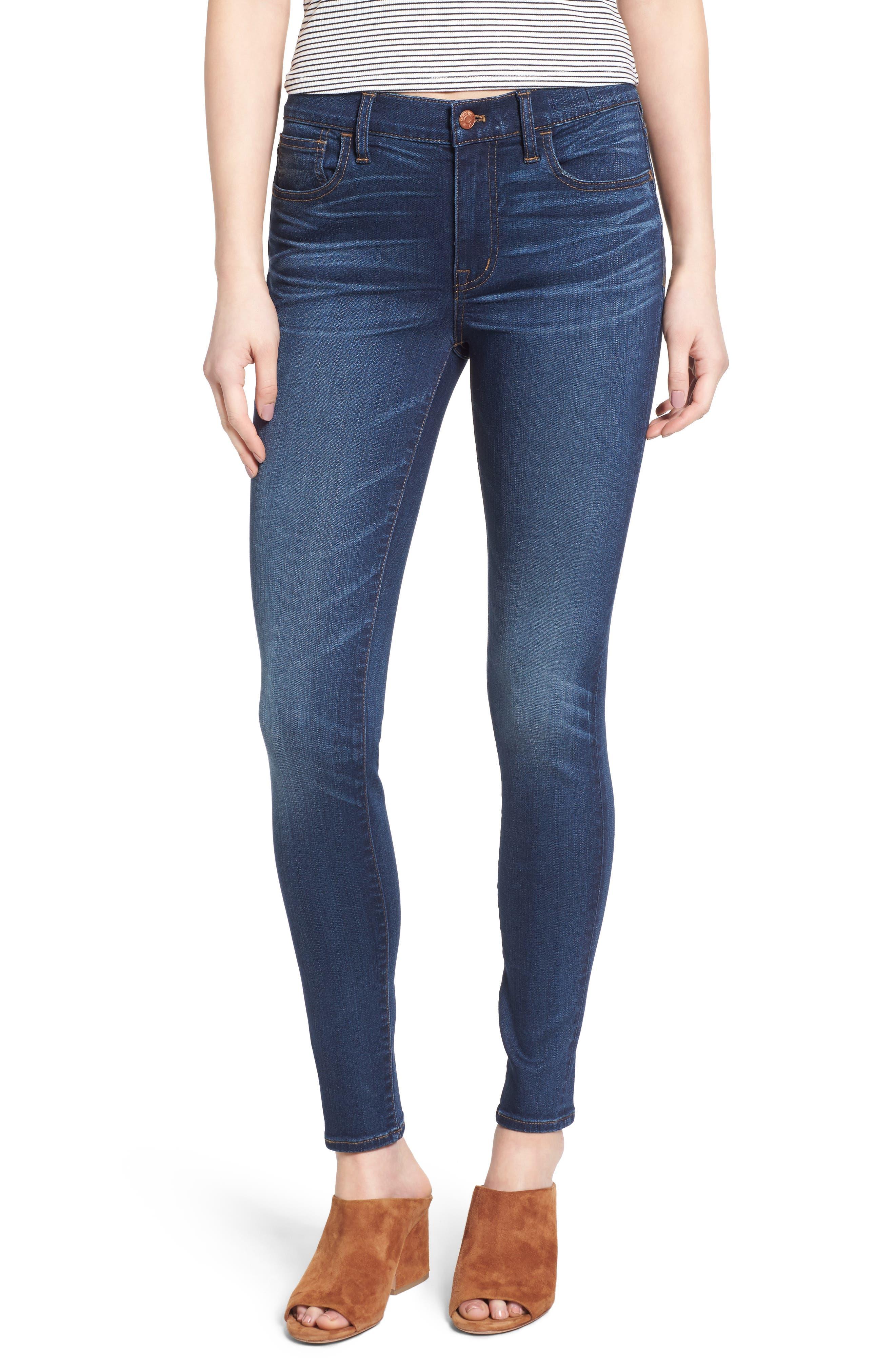 Alternate Image 1 Selected - Madewell Roadtripper Jeans (Darryl Wash)
