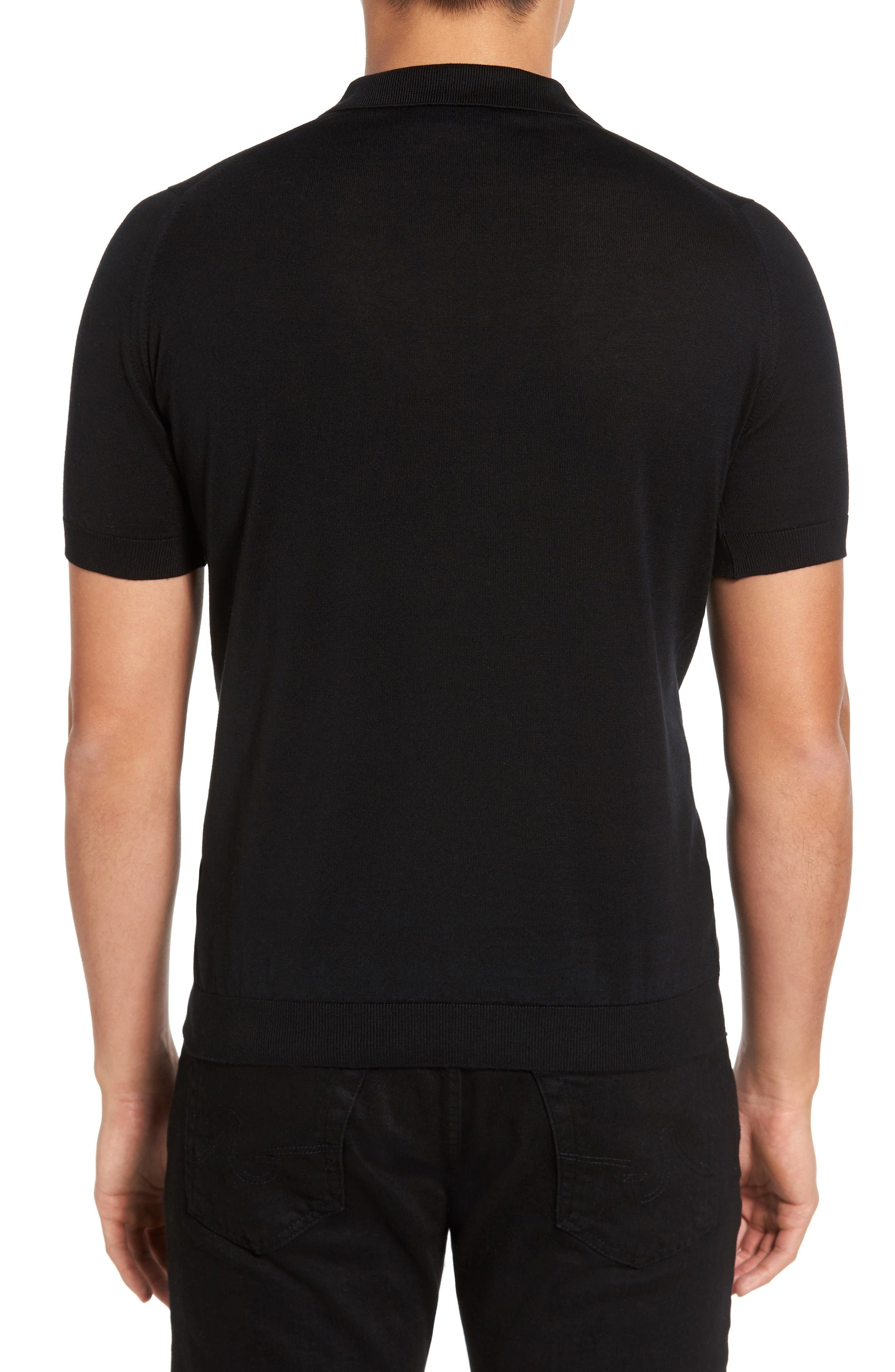 Alternate Image 2  - John Smedley Seal Island Cotton Polo