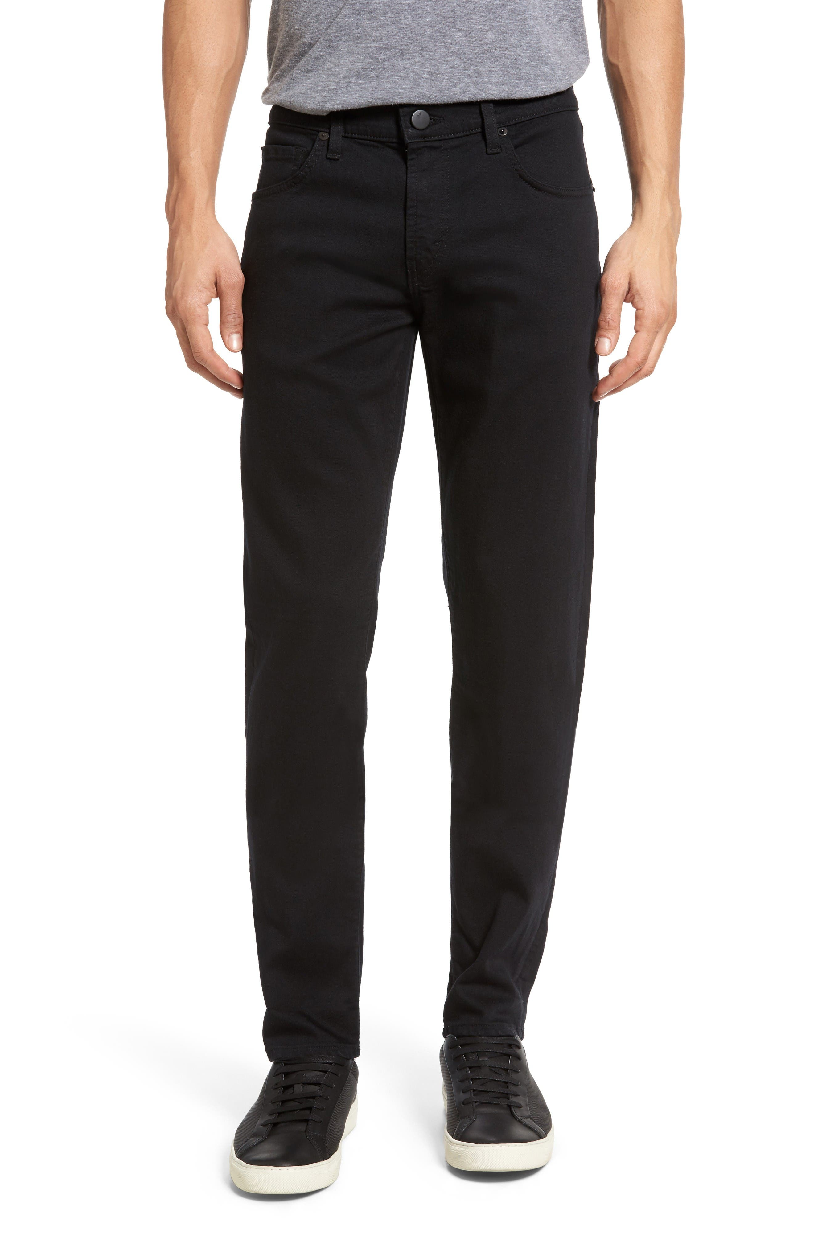 J Brand Tyler Slim Fit Jeans (Seriously Black)