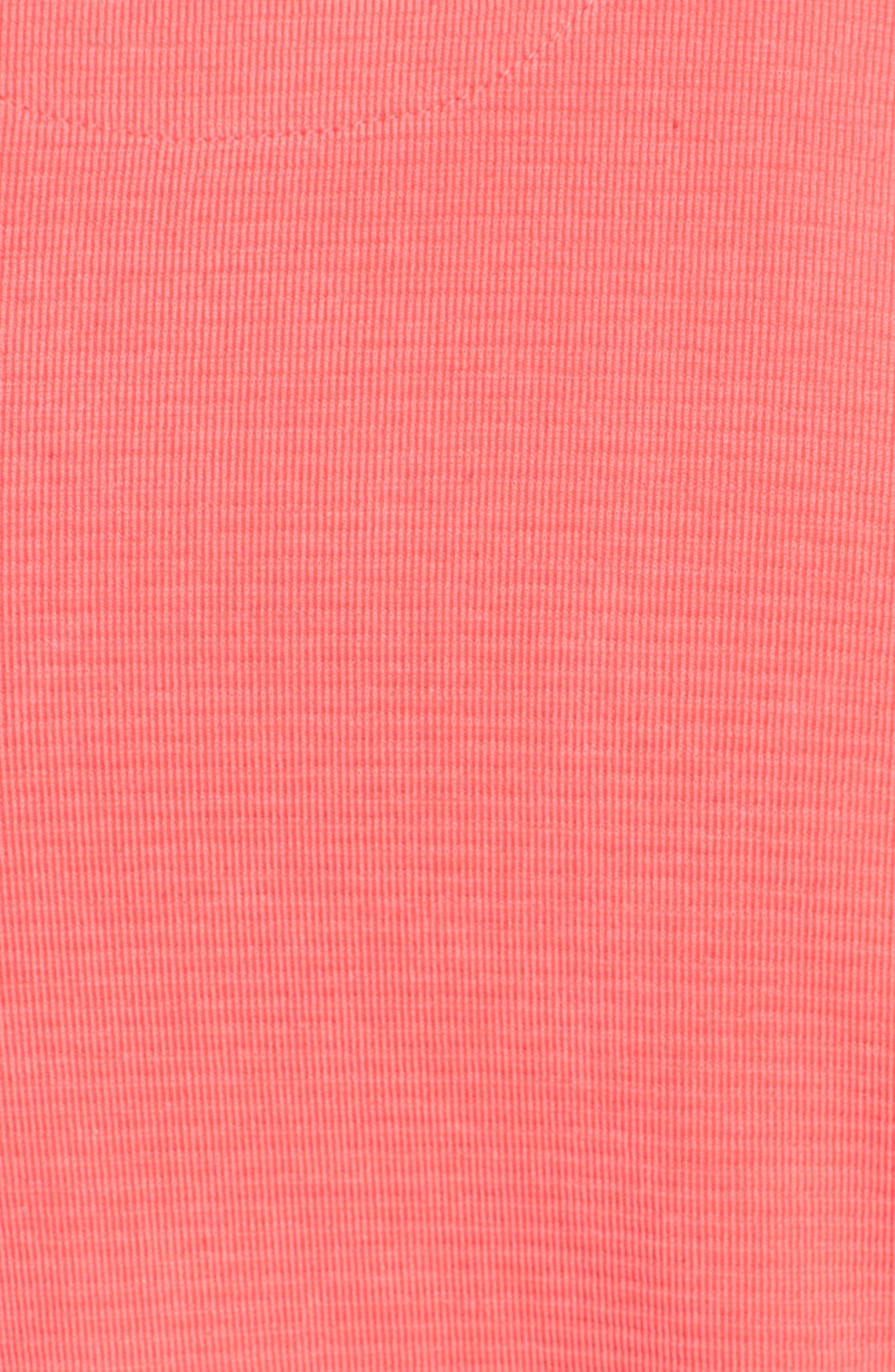 Crewneck T-Shirt,                             Alternate thumbnail 5, color,                             Cherry