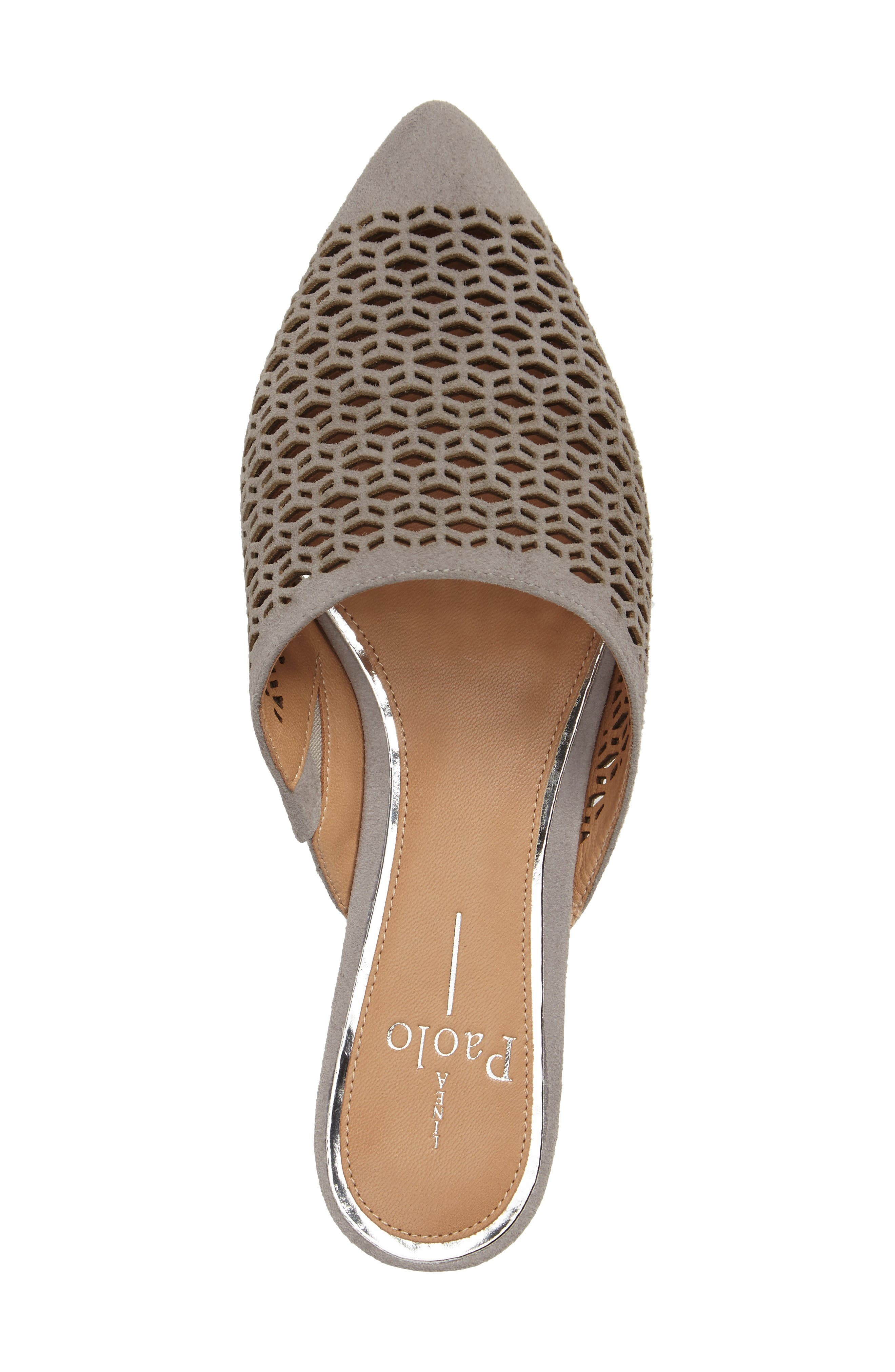 Alternate Image 3  - Linea Paolo Daisy Perforated Mule (Women)