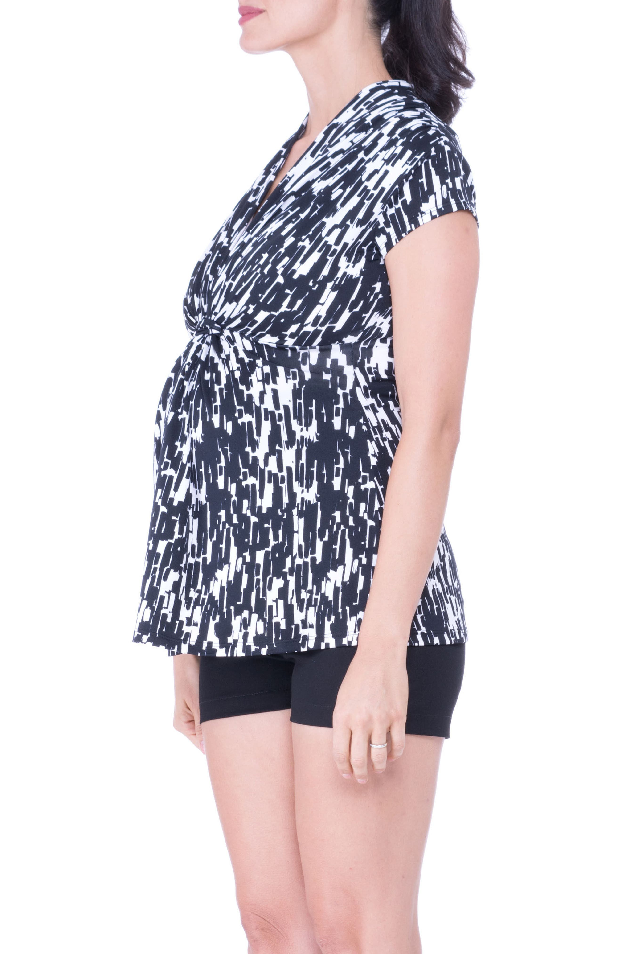 Alternate Image 4  - Olian Knot Maternity Top
