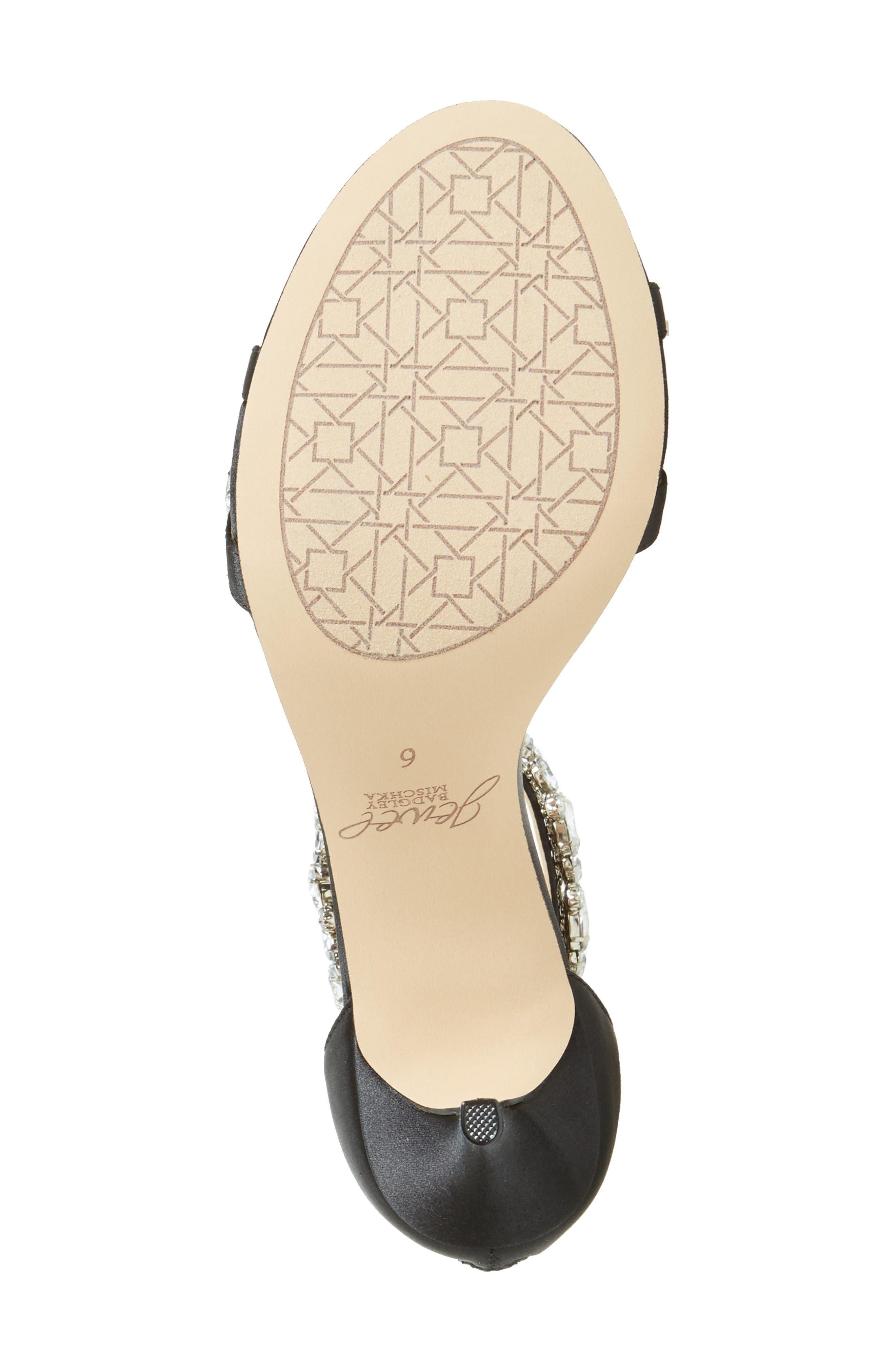 Alternate Image 4  - Jewel Badgley Mischka Caroline Embellished Sandal (Women)