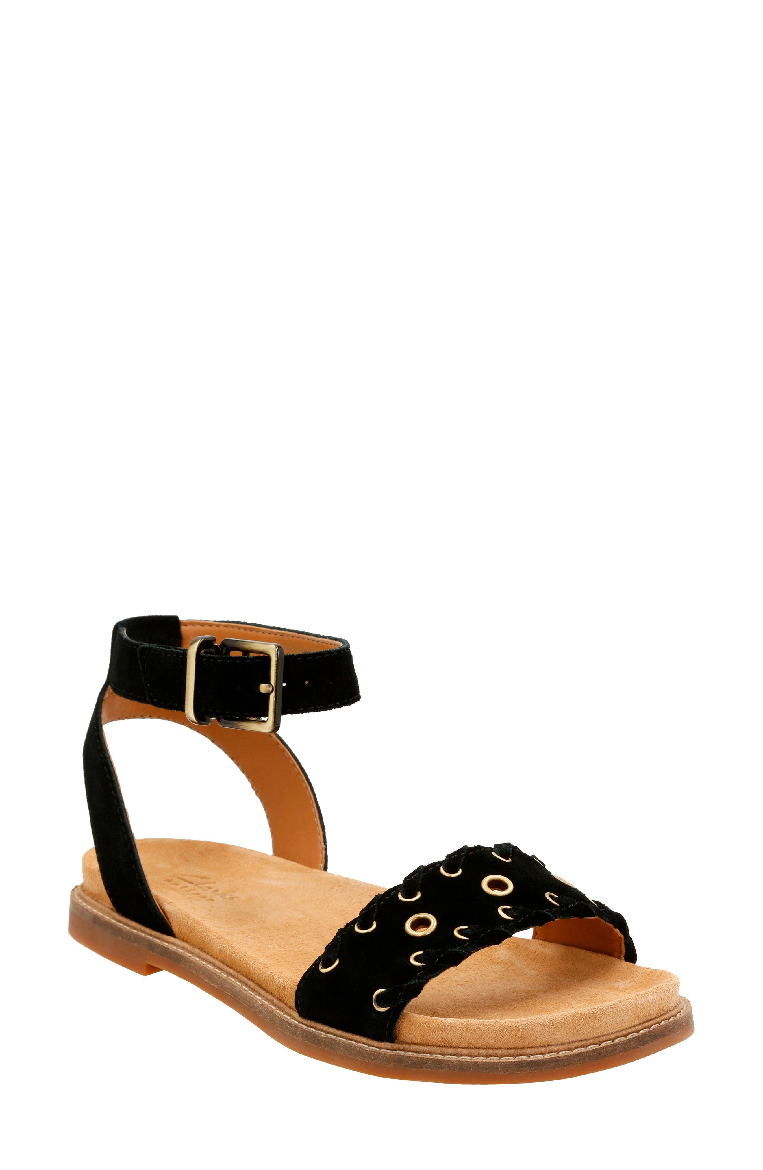 CLARKS<SUP>®</SUP> Corsio Amelia Ankle Strap Sandal