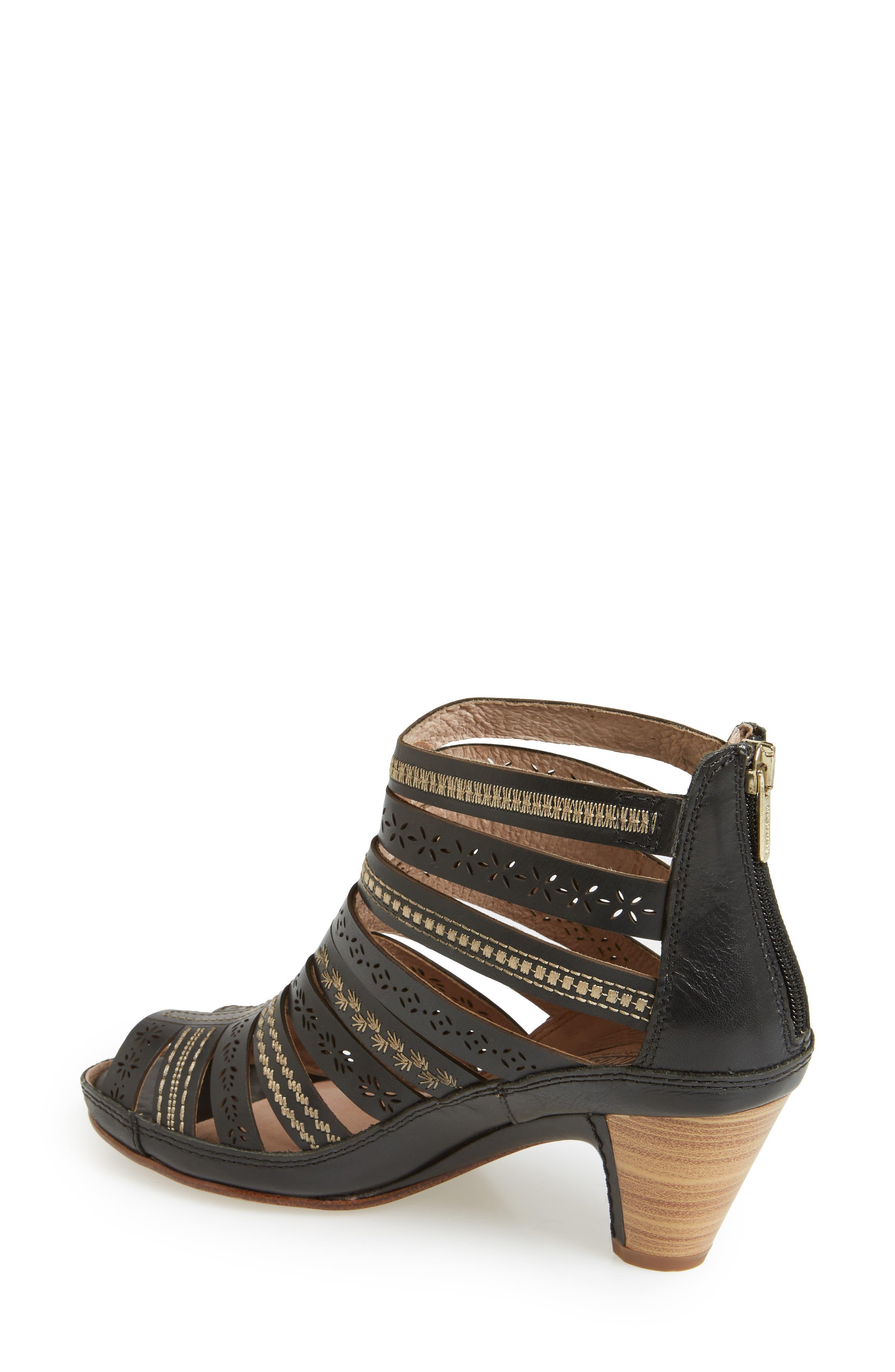 Alternate Image 2  - PIKOLINOS 'Java' Leather Gladiator Sandal (Women)