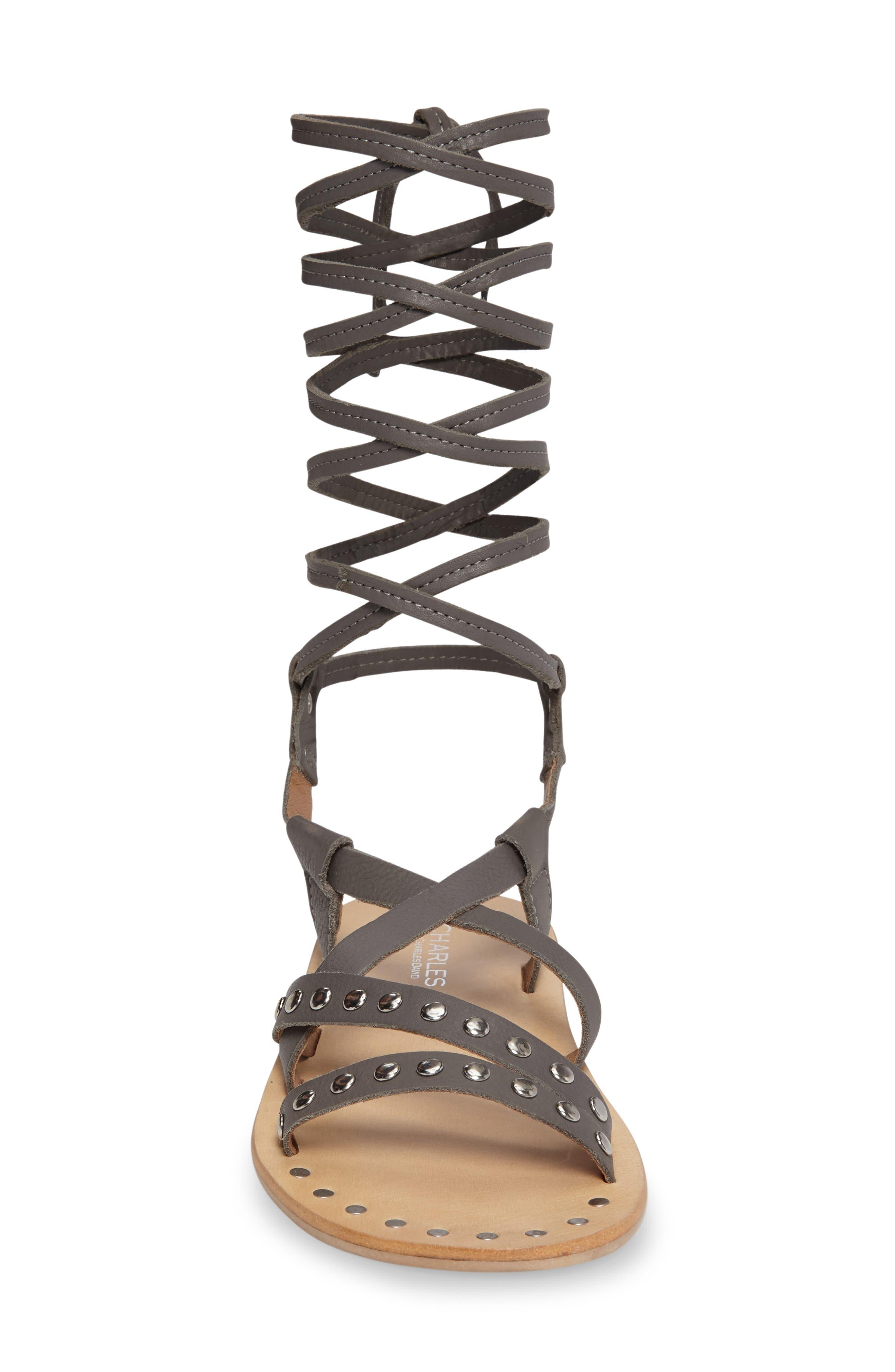 Alternate Image 3  - Charles by Charles David Steeler Ankle Wrap Sandal (Women)