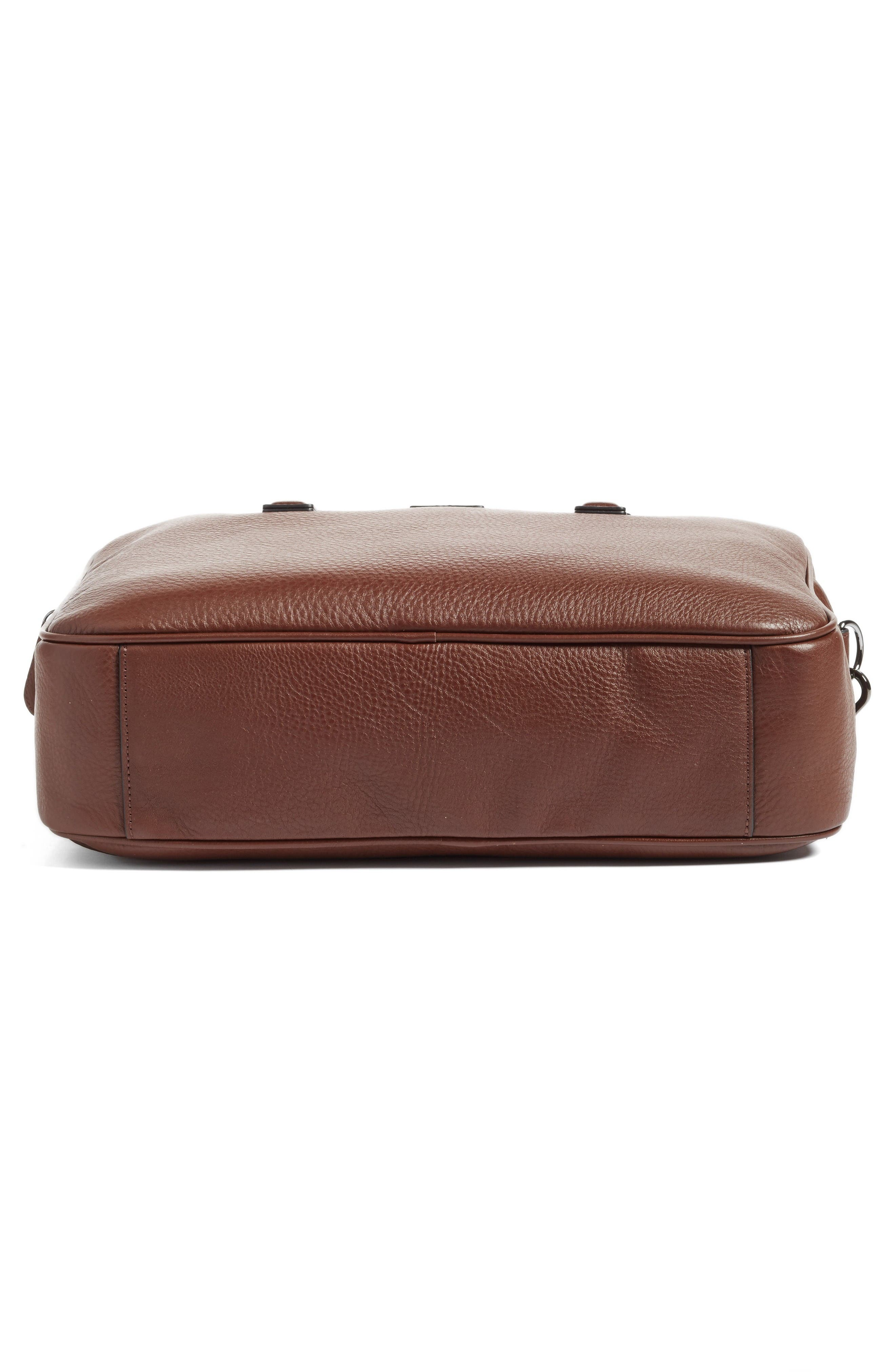 Alternate Image 6  - Ted Baker London Leather Document Bag