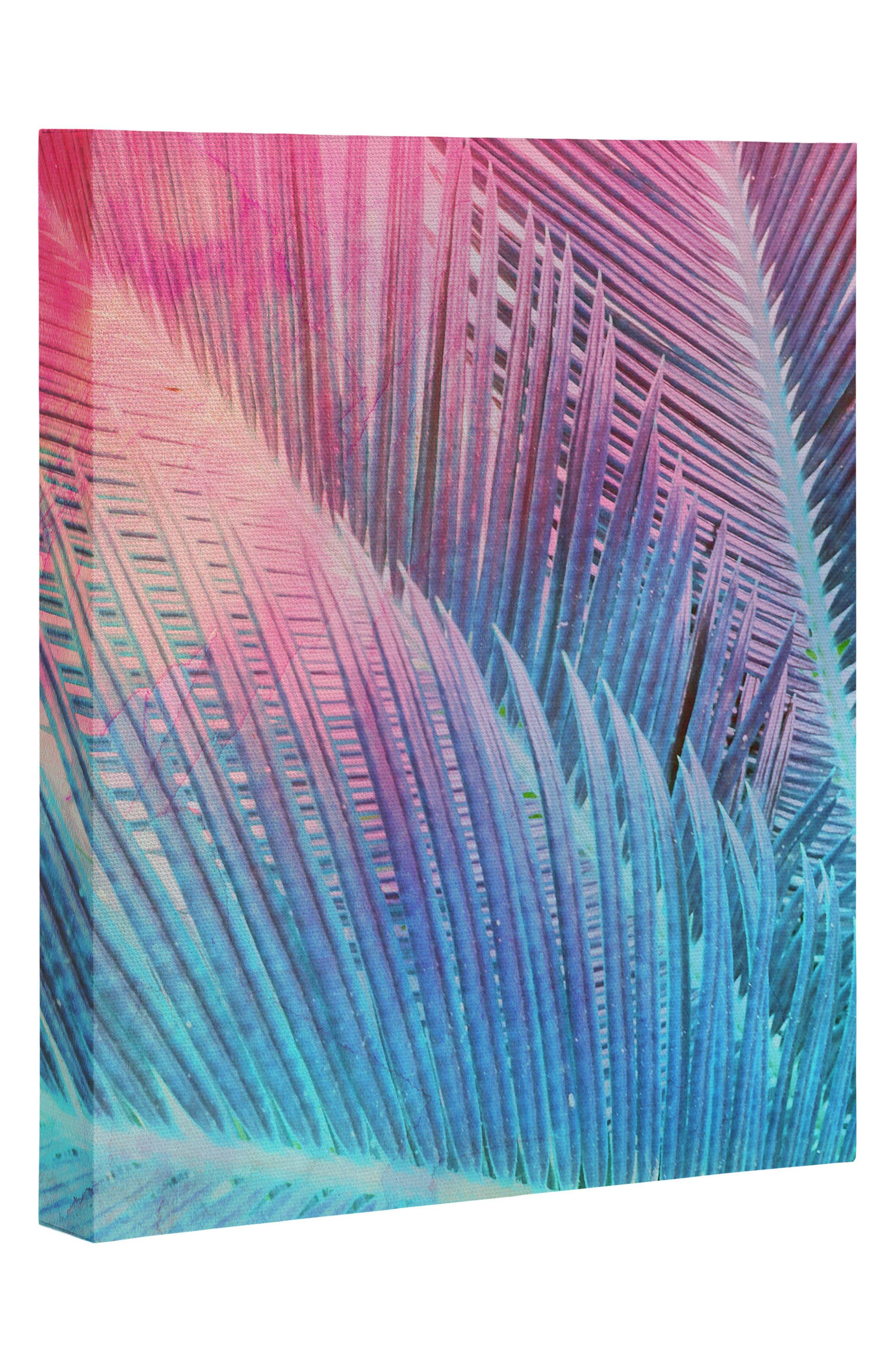 Main Image - Deny Designs Palm 1 Canvas Wall Art