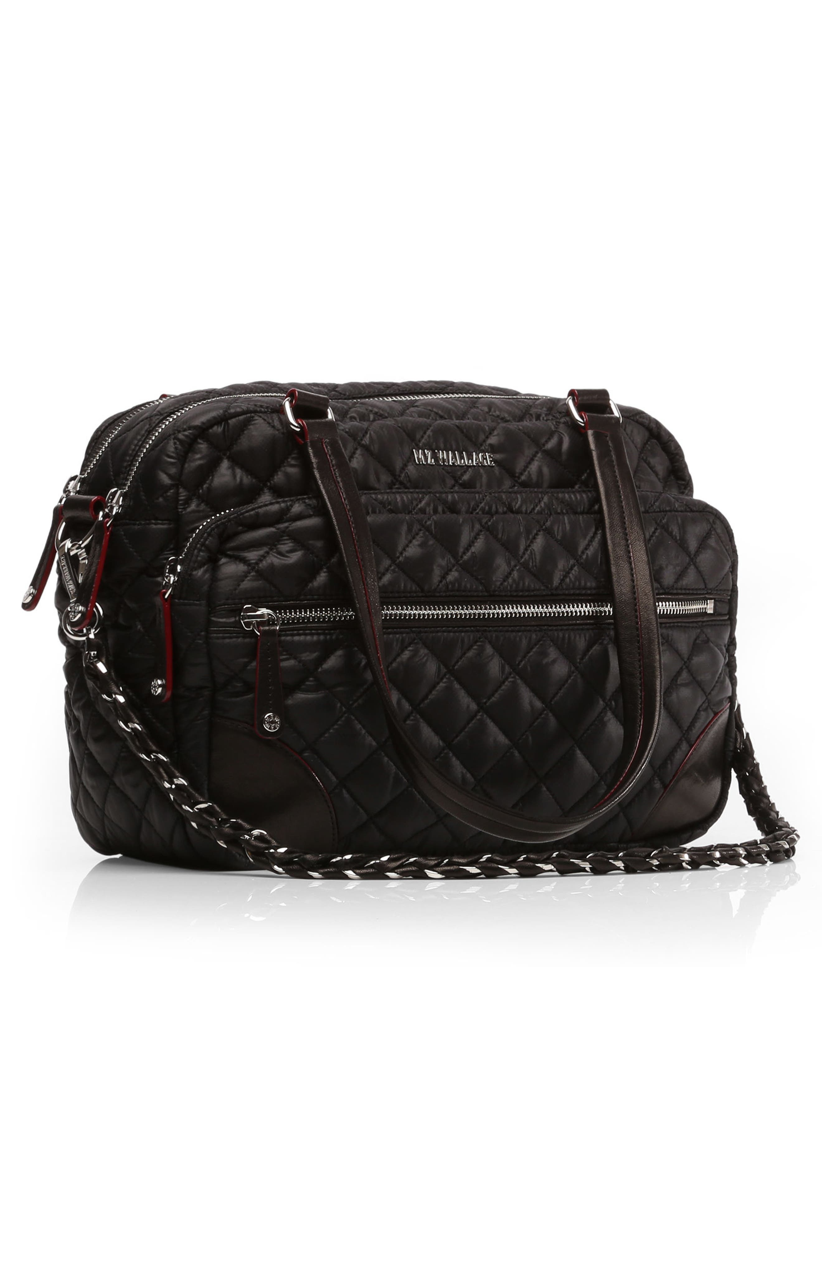 Alternate Image 5  - MZ Wallace Medium Crosby Quilted Oxford Nylon Crossbody Bag