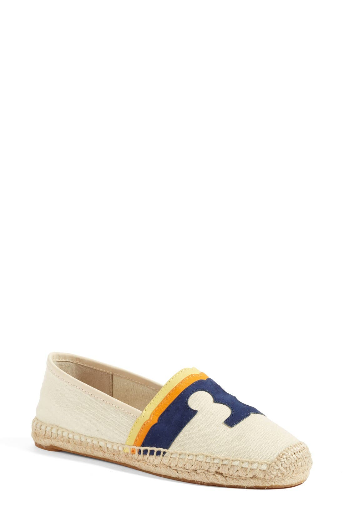 Alternate Image 1 Selected - Tory Burch Laguna Espadrille Flat (Women)
