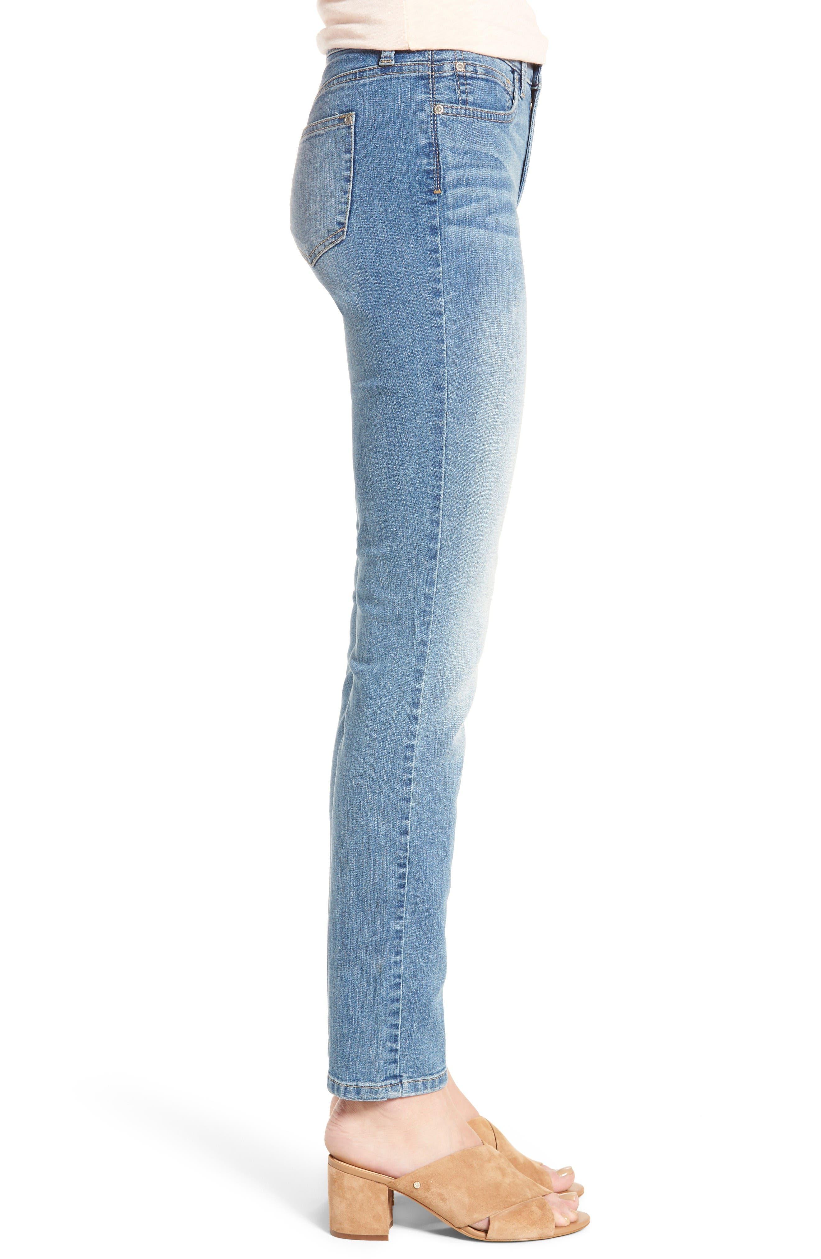 Alternate Image 3  - NYDJ Alina Skinny Jeans (Oxford)