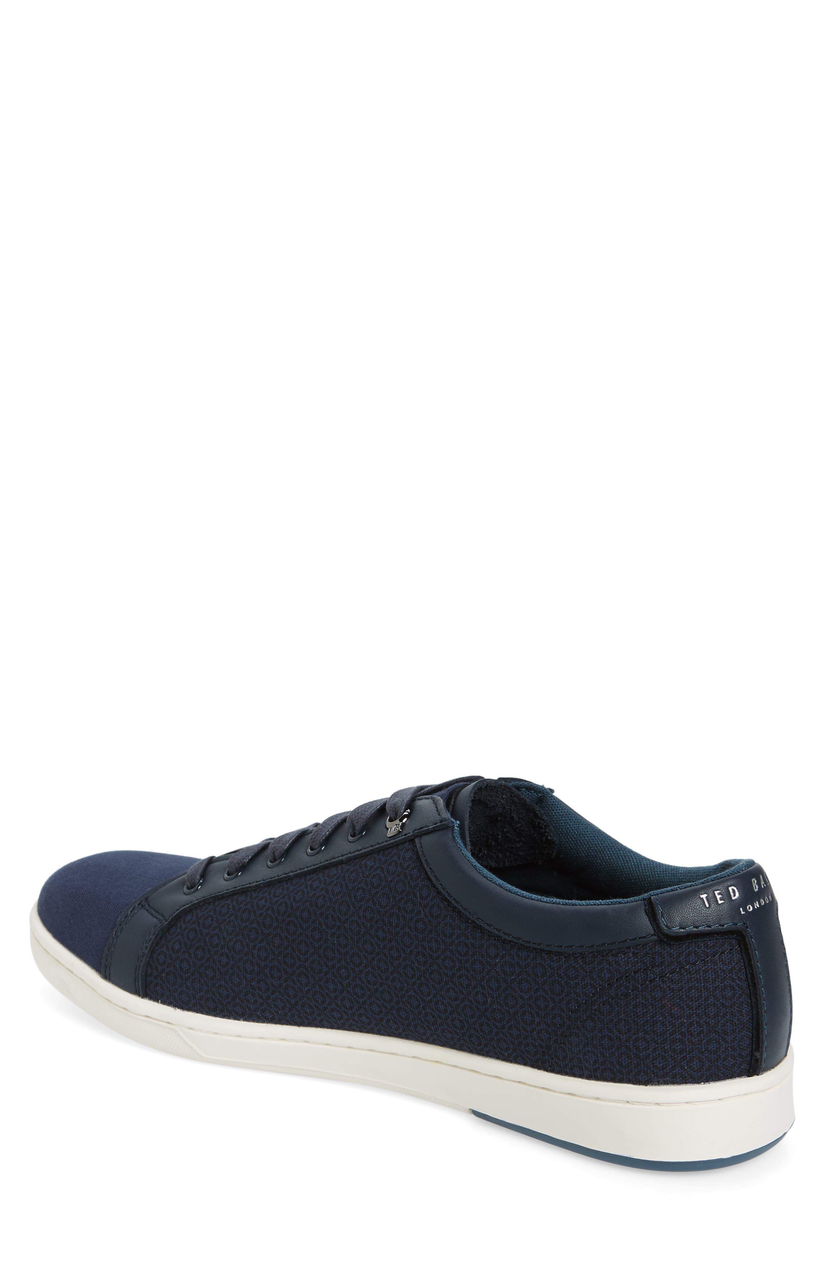 Ternur Geo Print Sneaker,                             Alternate thumbnail 2, color,                             Dark Blue