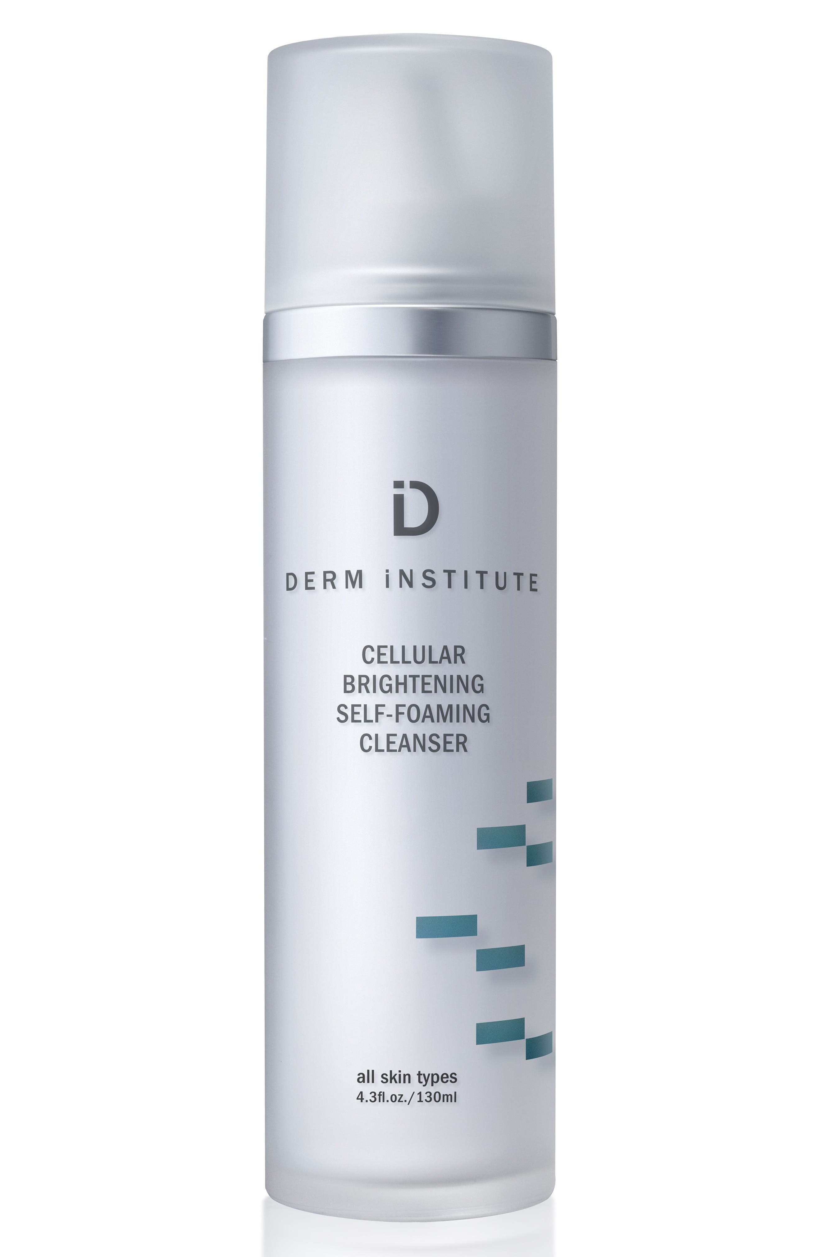 SPACE.NK.apothecary Derm Institute Cellular Brightening Self-Foaming Cleanser,                         Main,                         color, No Color