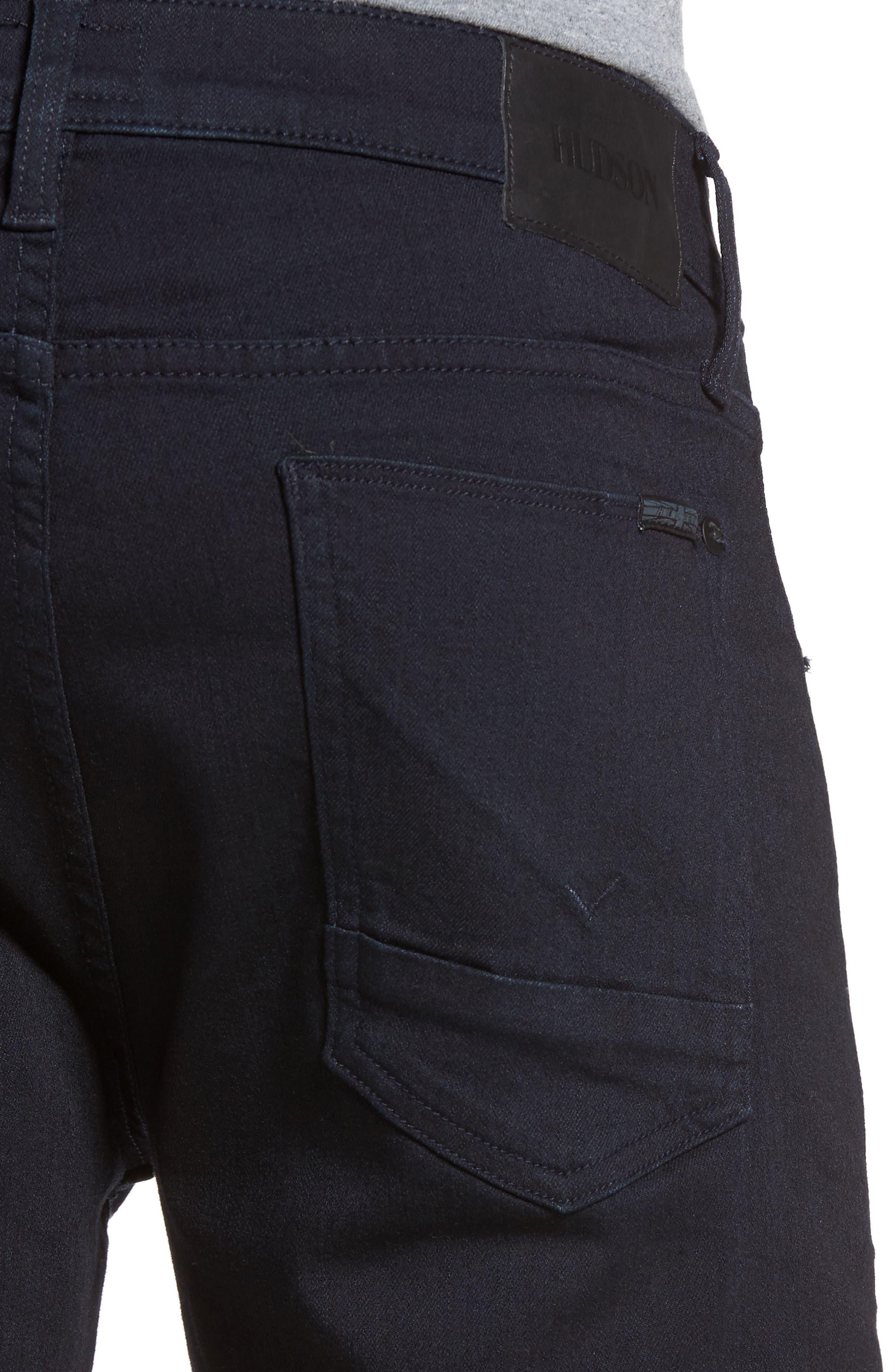 Blake Slim Fit Jeans,                             Alternate thumbnail 4, color,                             Hale Navy