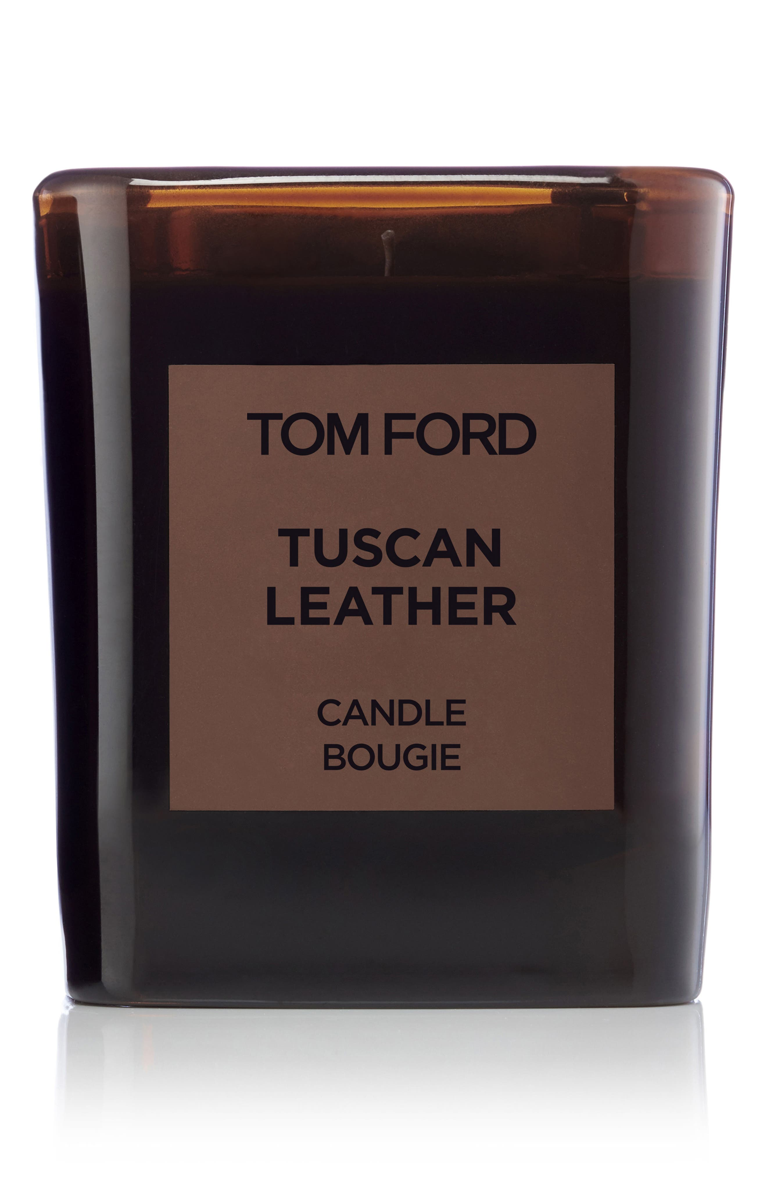 Private Blend Tuscan Leather Candle,                         Main,                         color, No Color