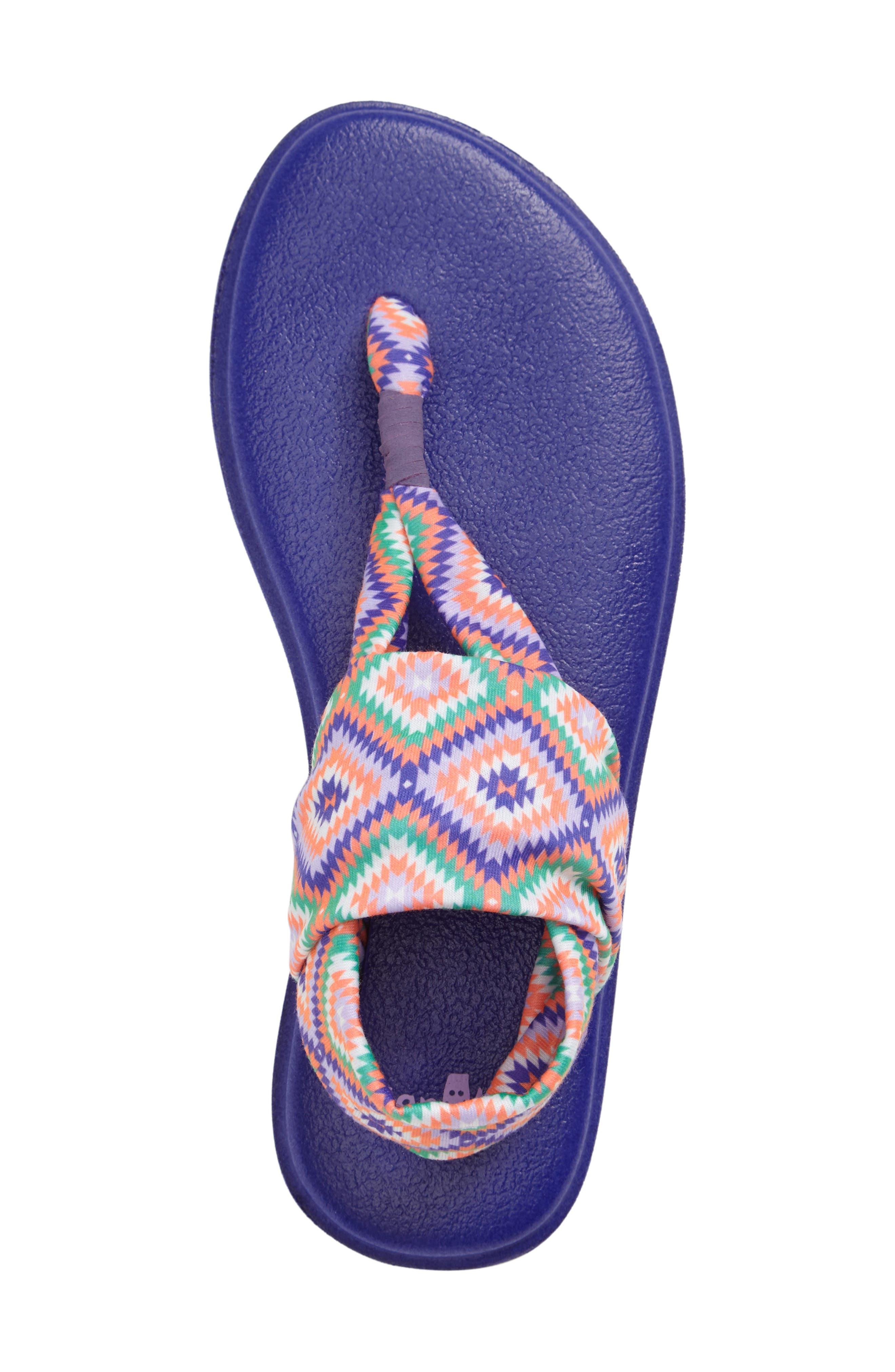 Alternate Image 3  - Sanuk Yoga Sling Burst Sandal (Toddler, Little Kid & Big Kid)