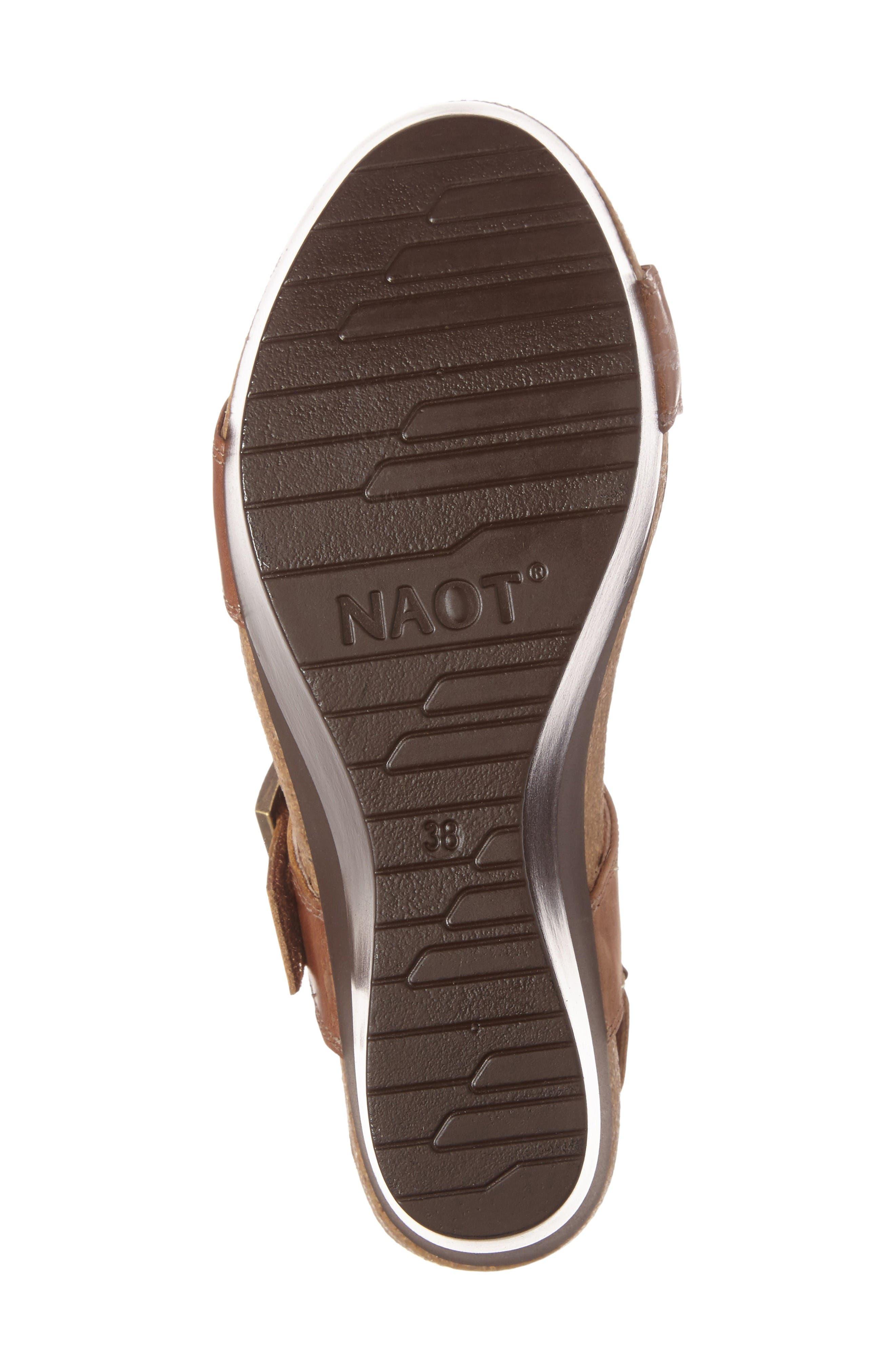 Alternate Image 4  - Naot Alpha Platform Wedge Sandal Sandal (Women)