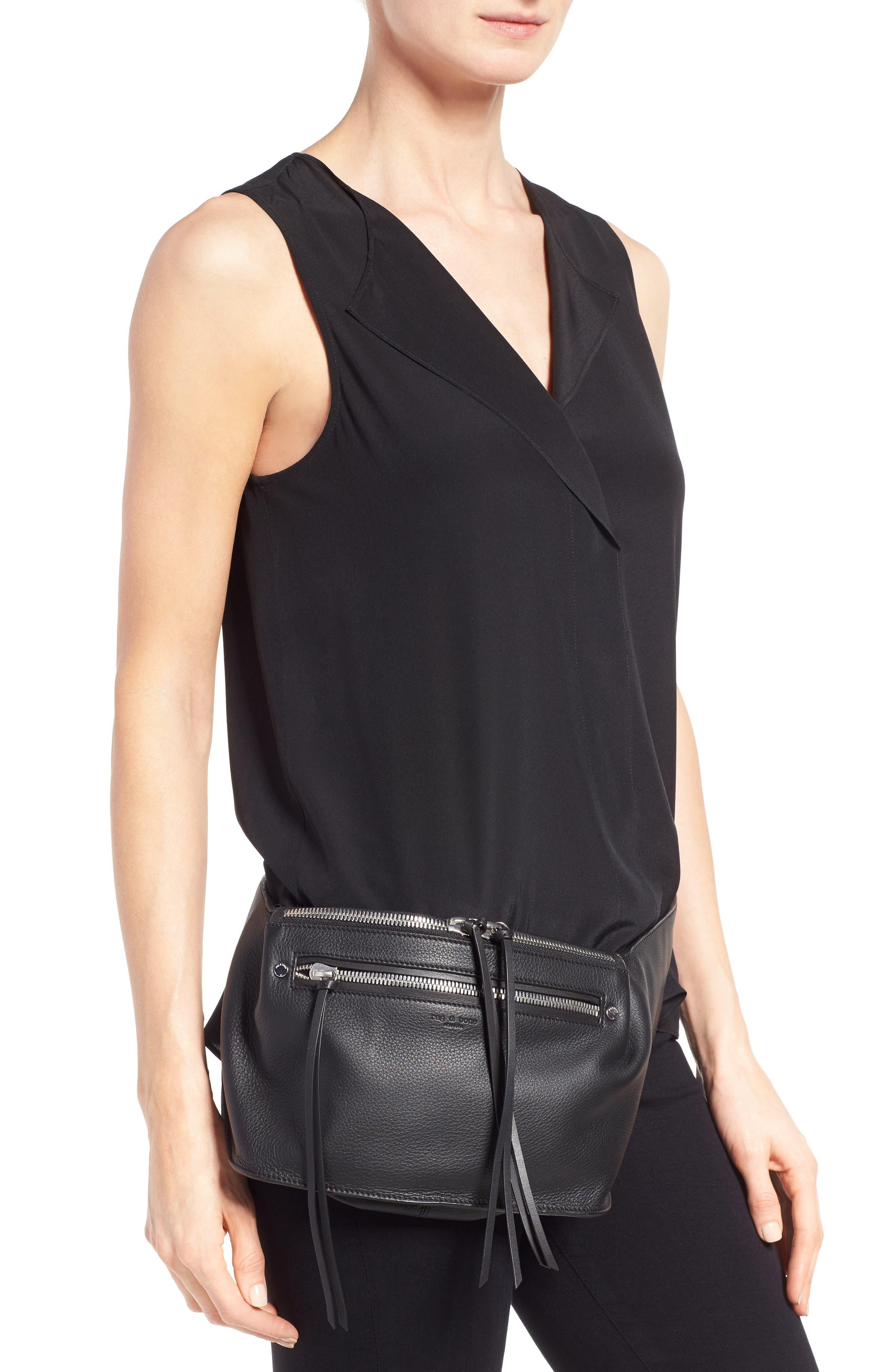 Alternate Image 2  - rag & bone Leather Belt Bag