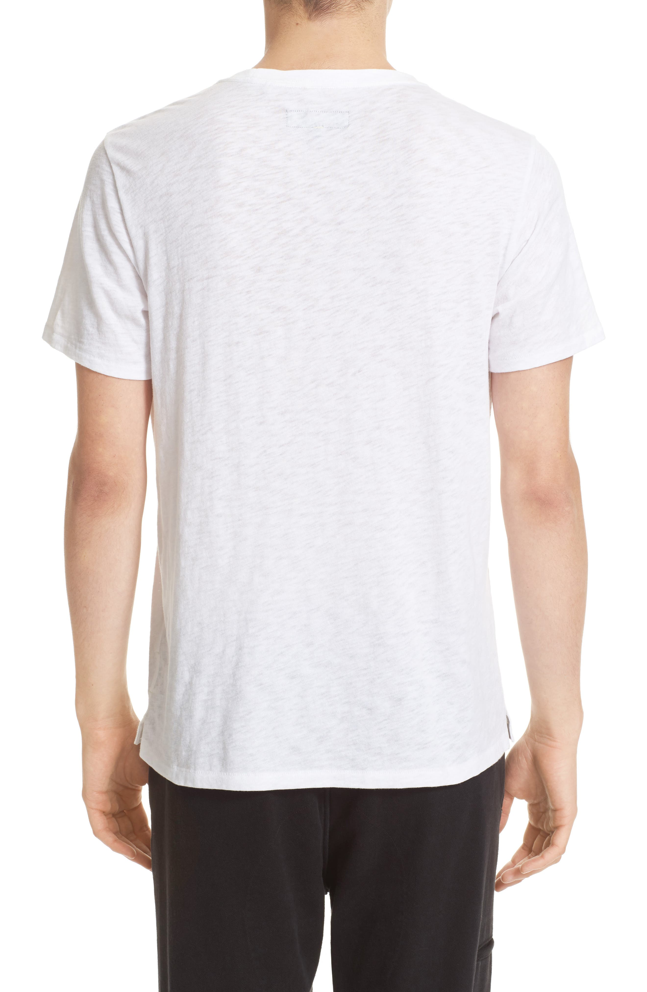 Alternate Image 2  - rag & bone Graphic Code T-Shirt