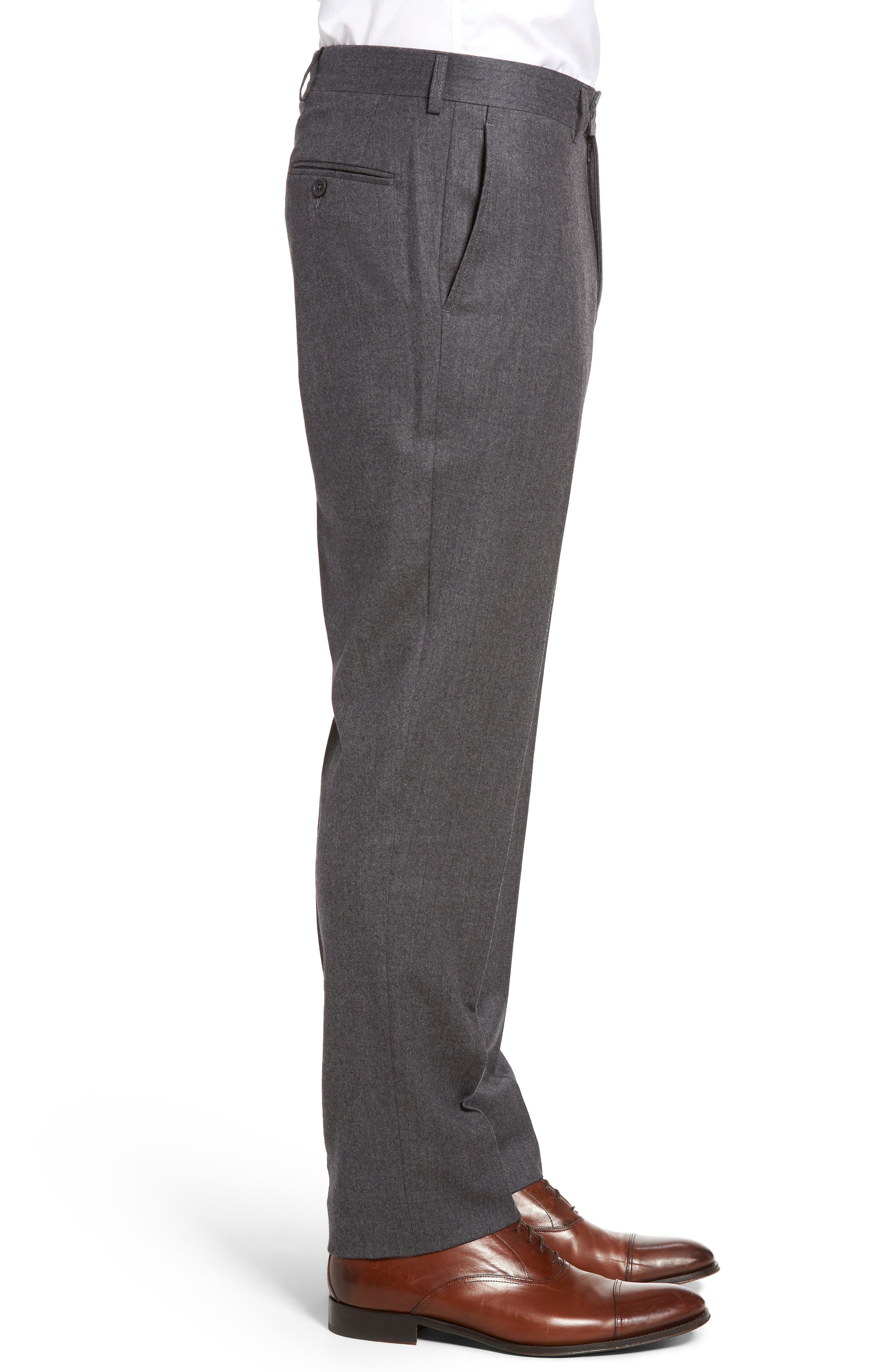 Alternate Image 3  - Bensol Flannel Wool Trousers