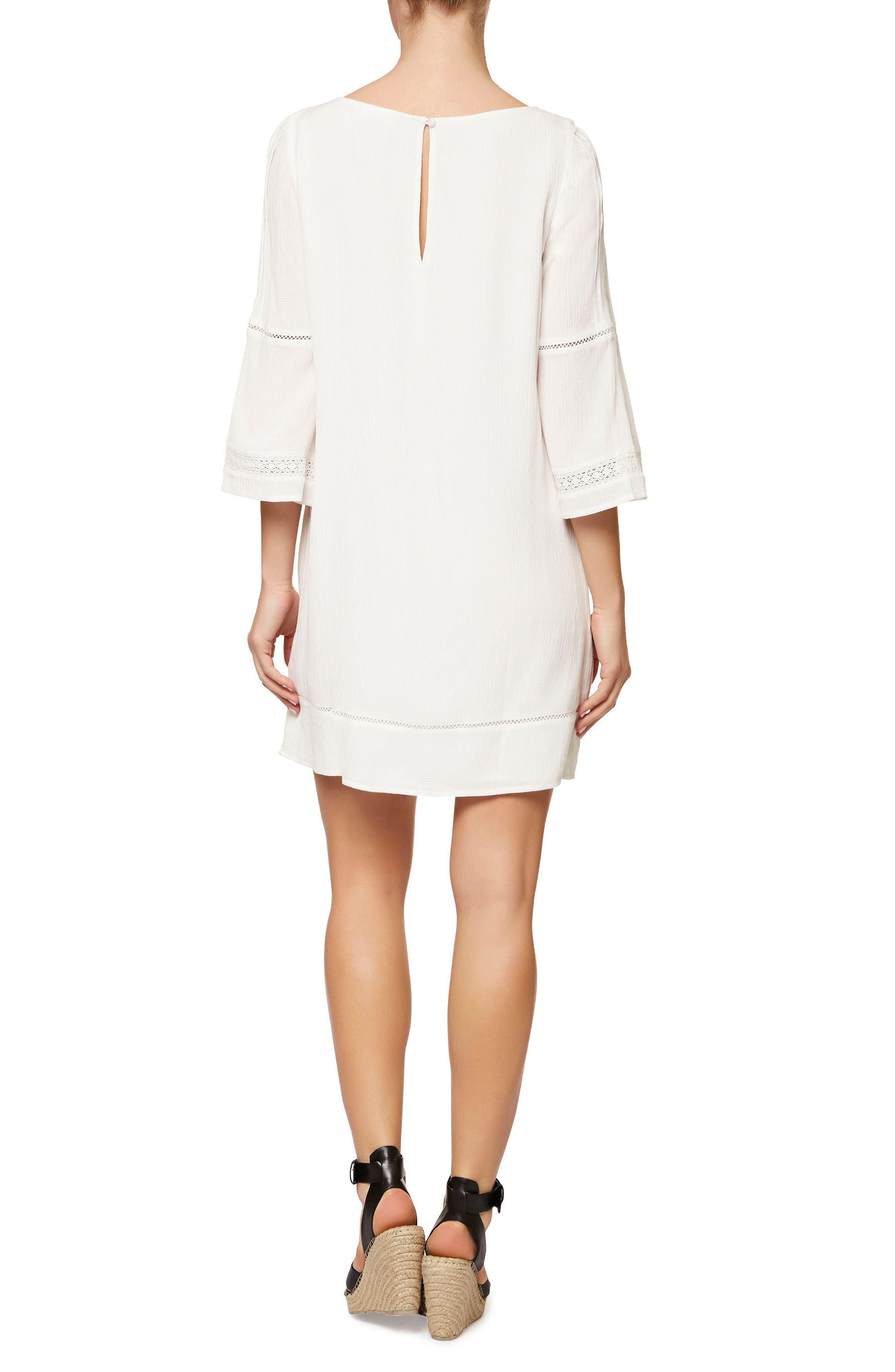 Alternate Image 2  - Sanctuary Lace Trim Shift Dress