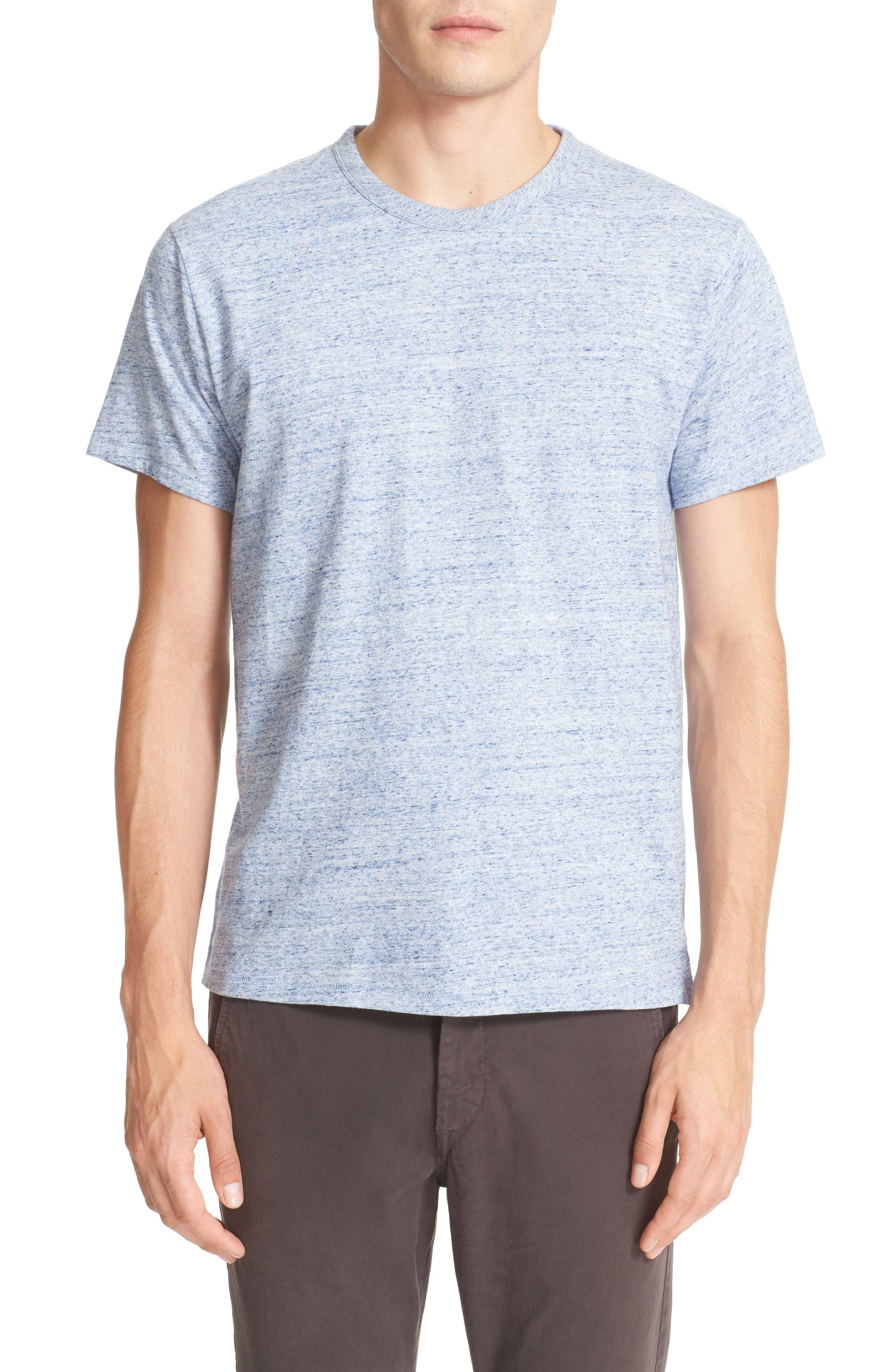 rag & bone James Mélange Cotton T-Shirt
